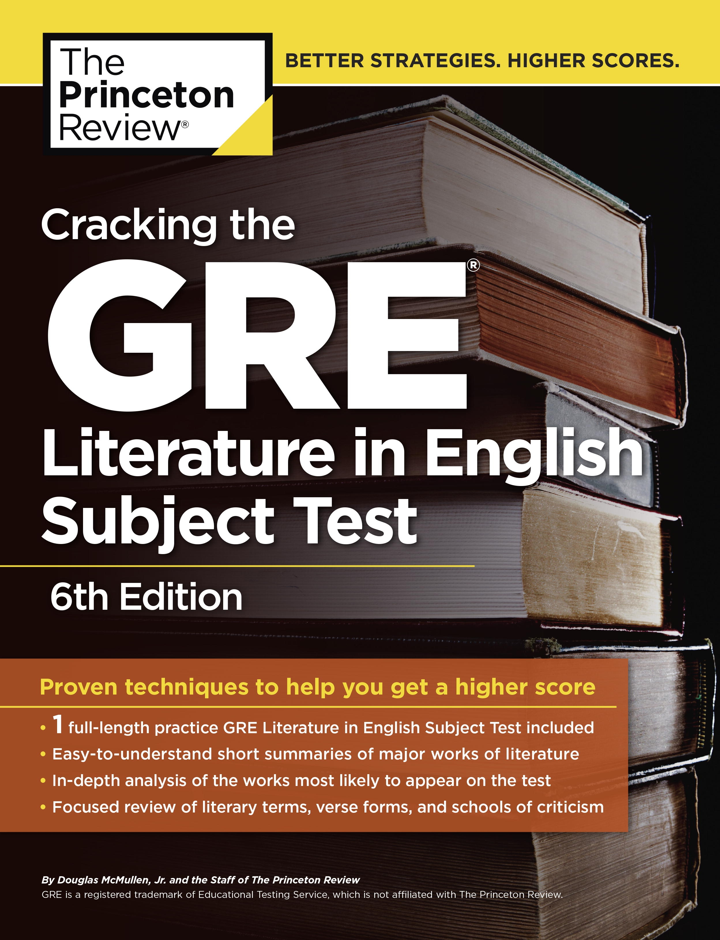 Cracking The Gre Literature In English Subject Test, 6th Edition. By Princeton  Review