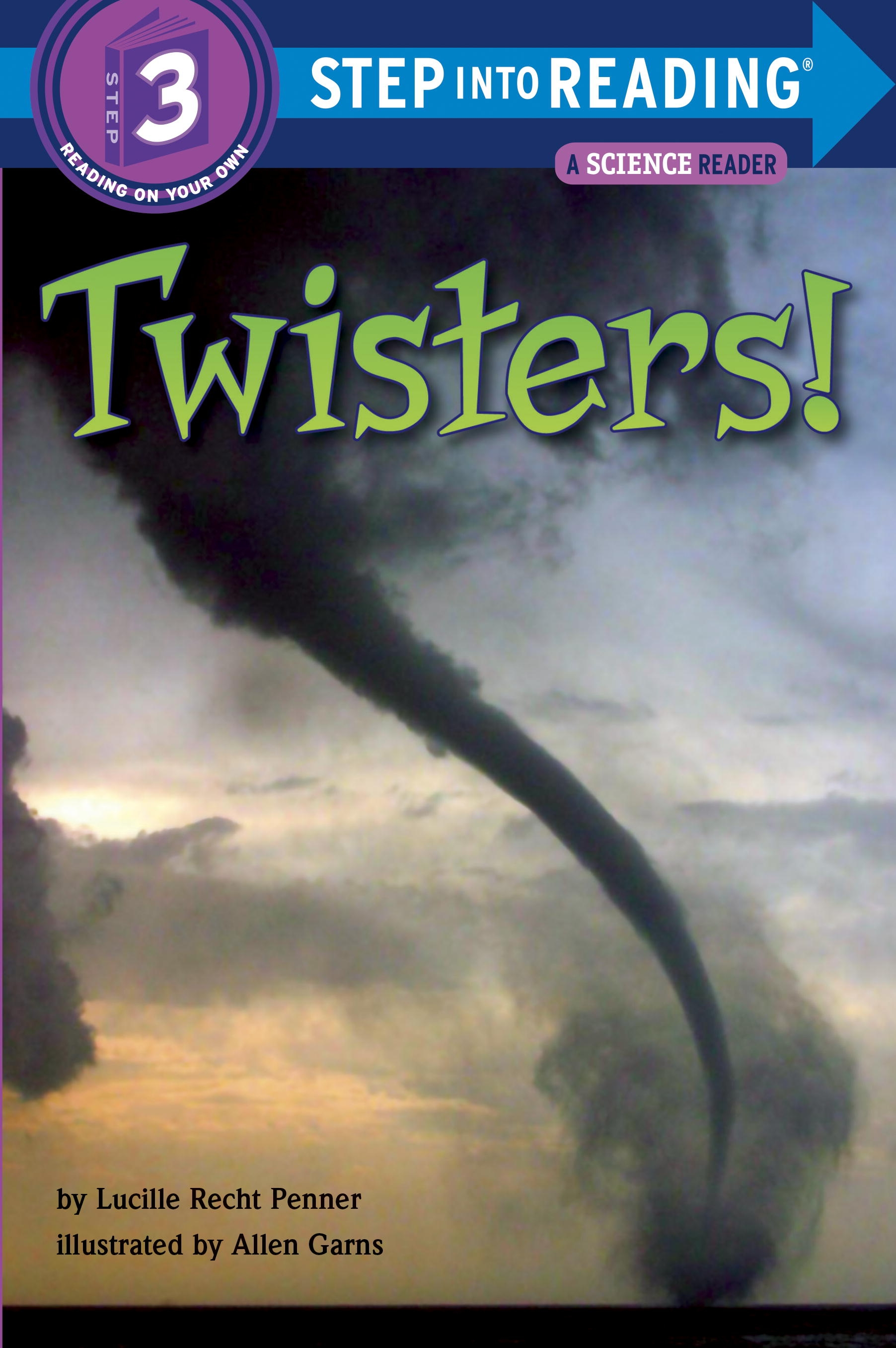 Twisters! Step Into Reading 3. By Lucille Recht Penner