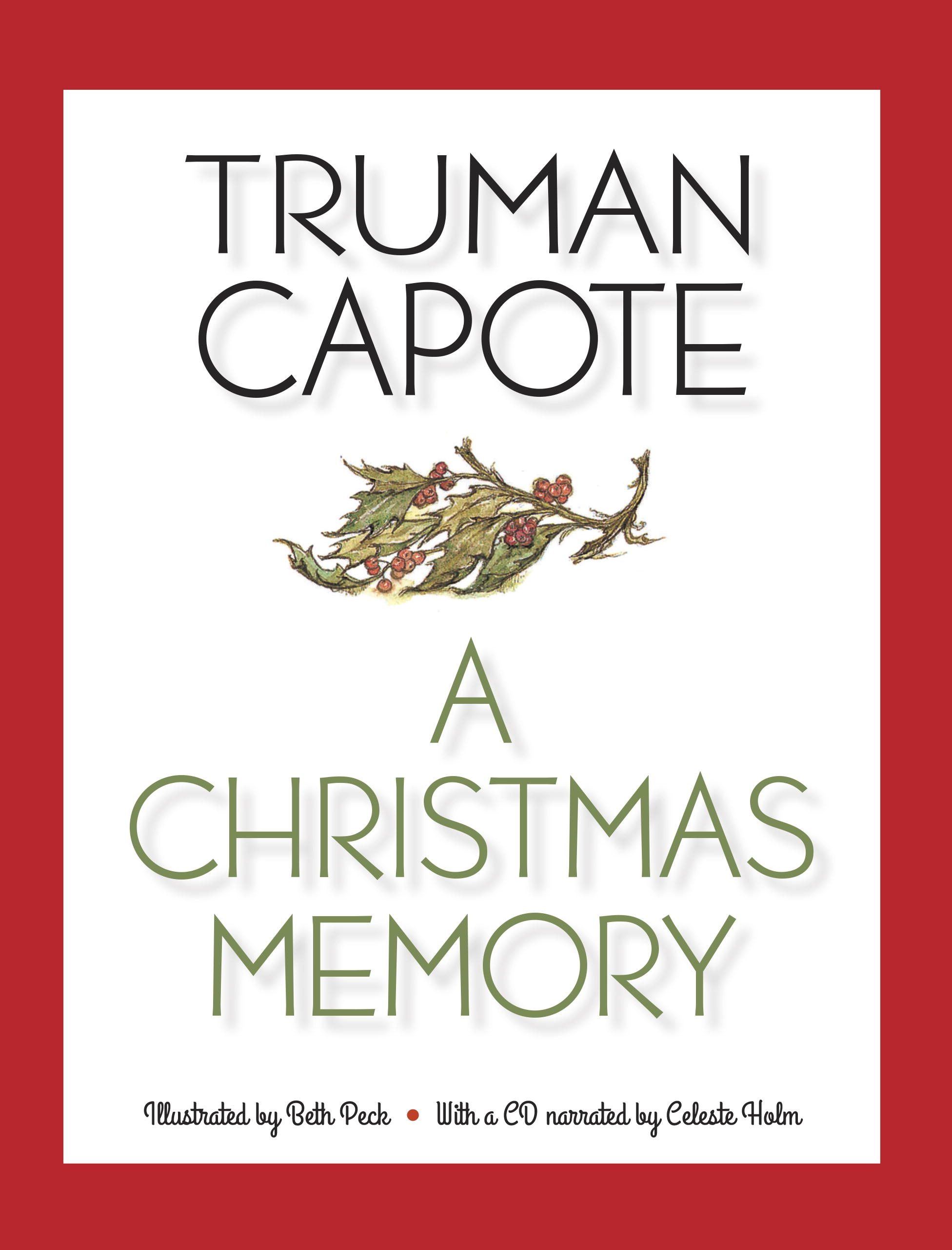 A Christmas Memory Book And Cd by Truman Capote - Penguin Books ...