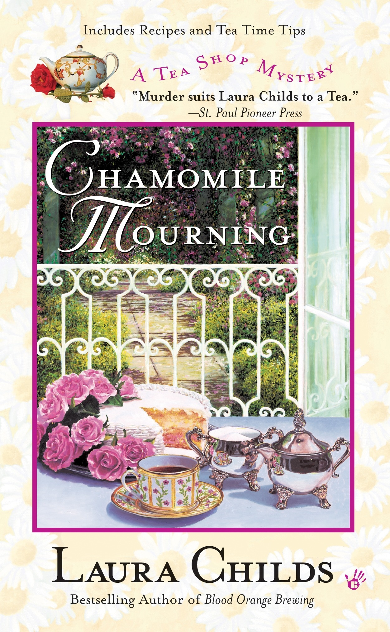 Penguin Book Cover Tea Towels : Chamomile mourning a tea shop mystery book by laura