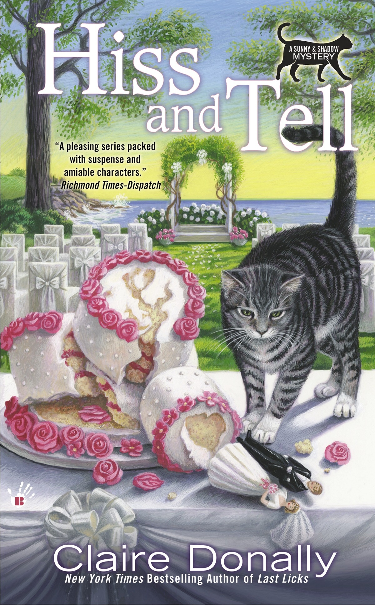 Hiss and Tell: A Sunny & Shadow Mystery Book 4 by Claire