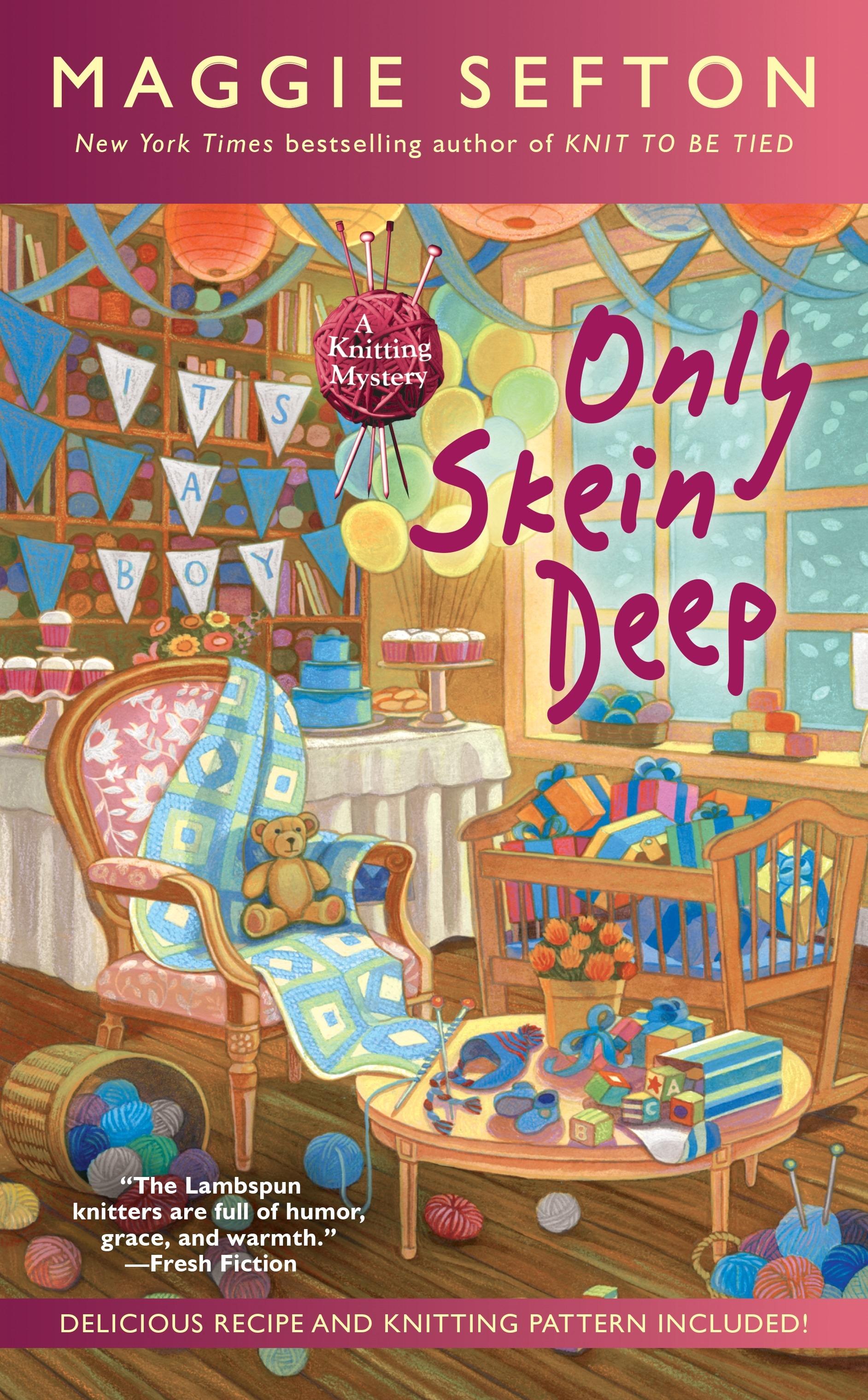 Only Skein Deep By Maggie Sefton Penguin Books Australia