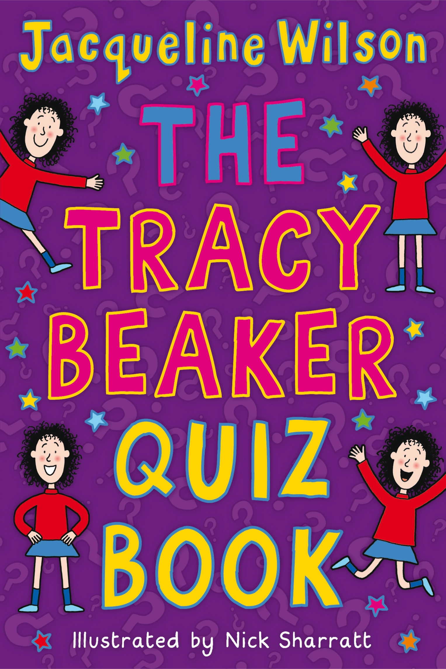 Book Cover Series Quiz : The tracy beaker quiz book by jacqueline wilson penguin