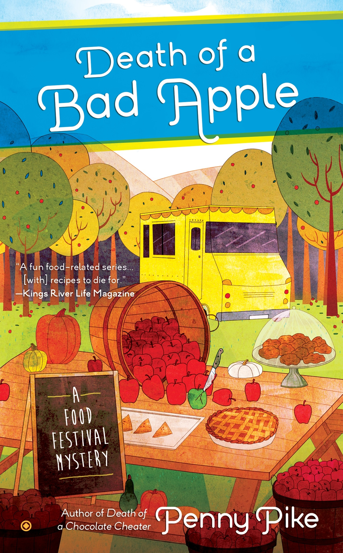 Death Of A Bad Apple by Penny Pike - Penguin Books New Zealand