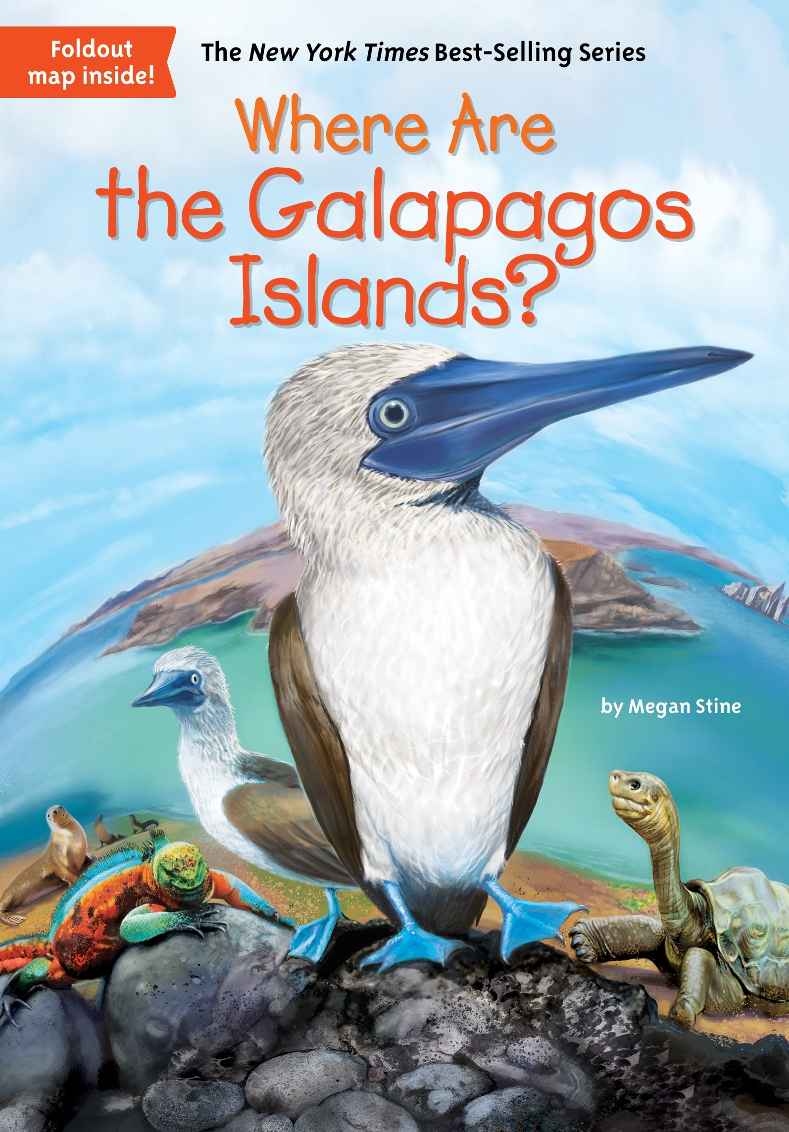 Where Are The Galapagos Islands By Megan Stine Penguin