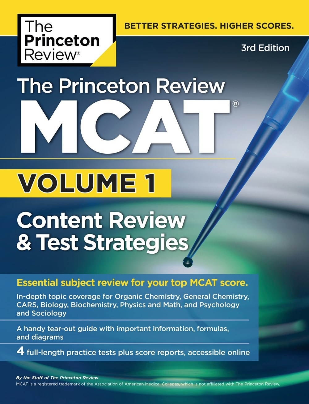 The Princeton Review MCAT, 3rd Edition by Princeton Review