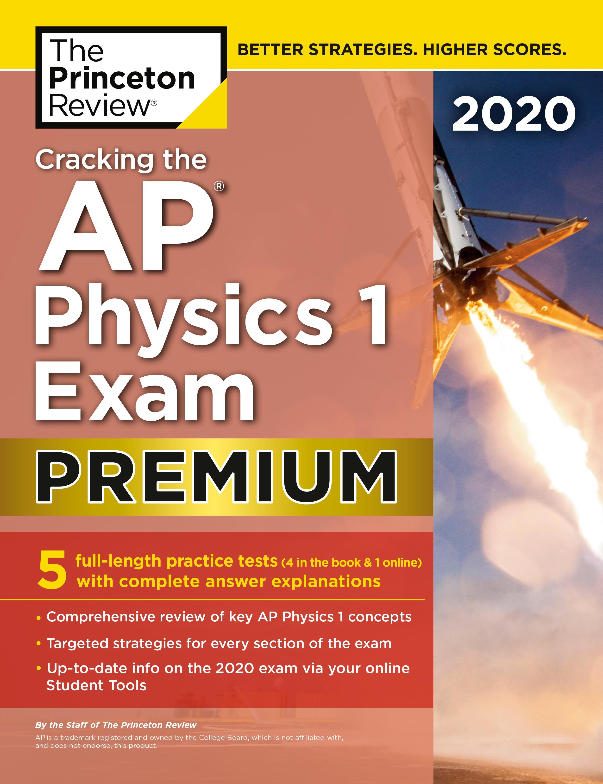 Cracking the AP Physics 1 Exam 2020, Premium Edition - Penguin Books