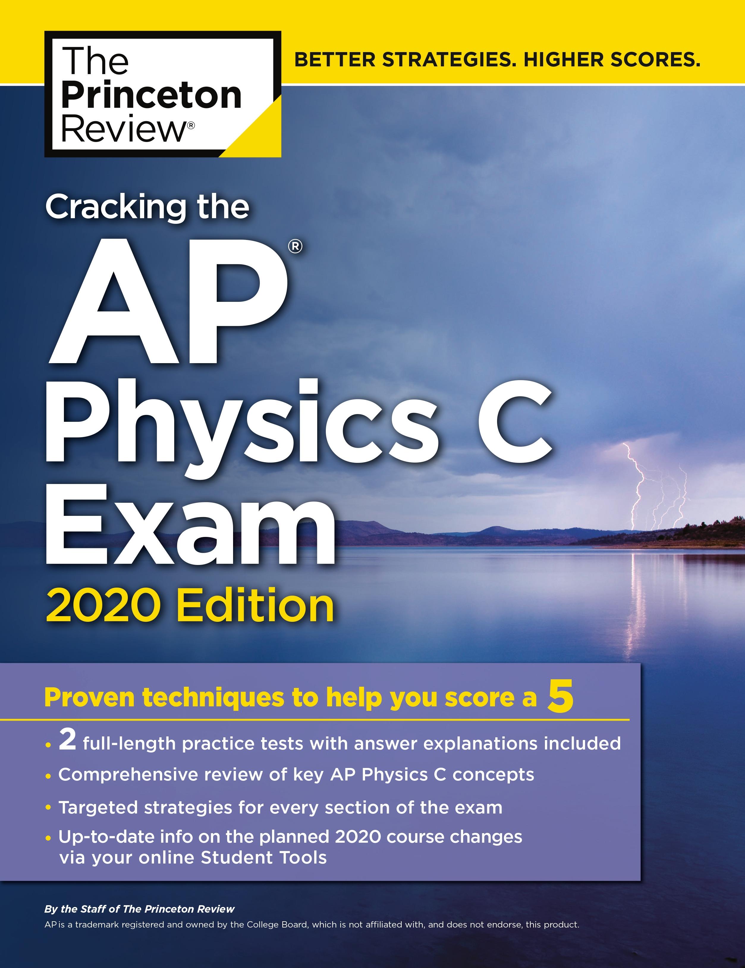 Cracking the AP Physics C Exam, 2020 Edition - Penguin Books