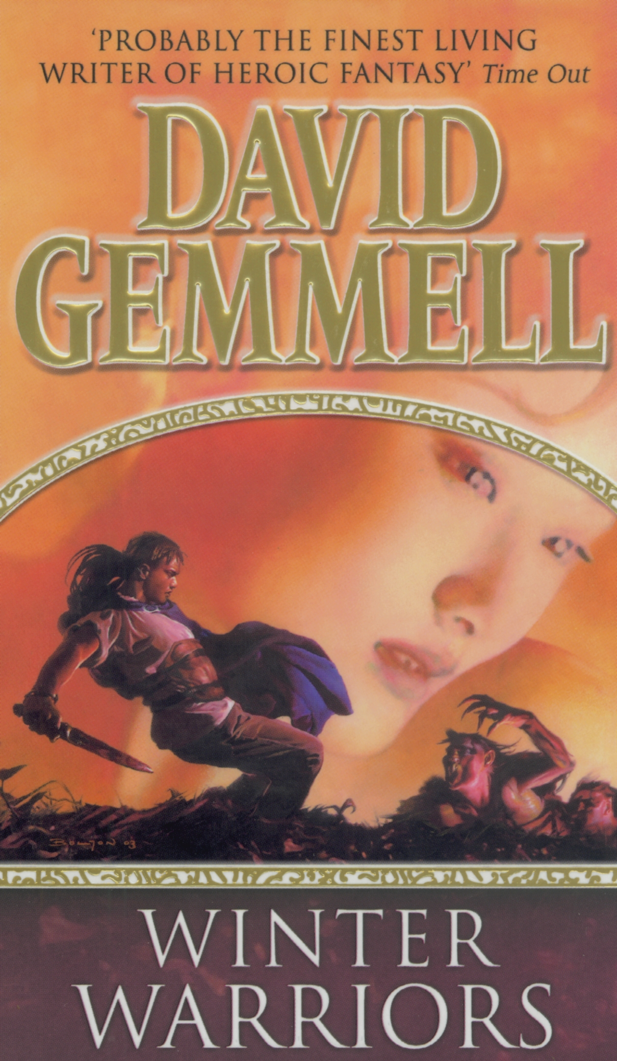 David Gemmell Book Cover Art : The winter warriors by david gemmell penguin books australia