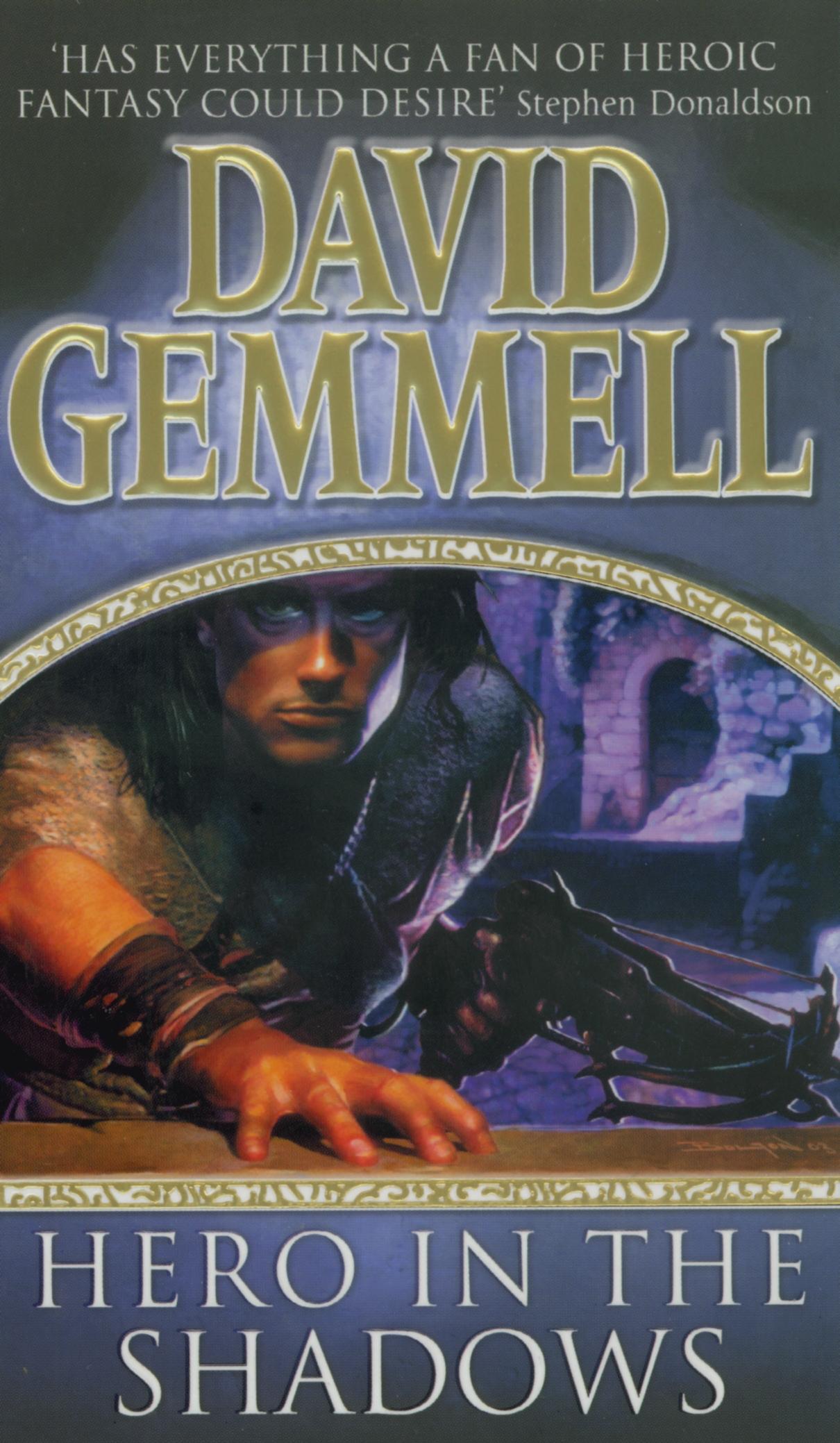 David Gemmell Book Cover Art : Hero in the shadows by david gemmell penguin books australia
