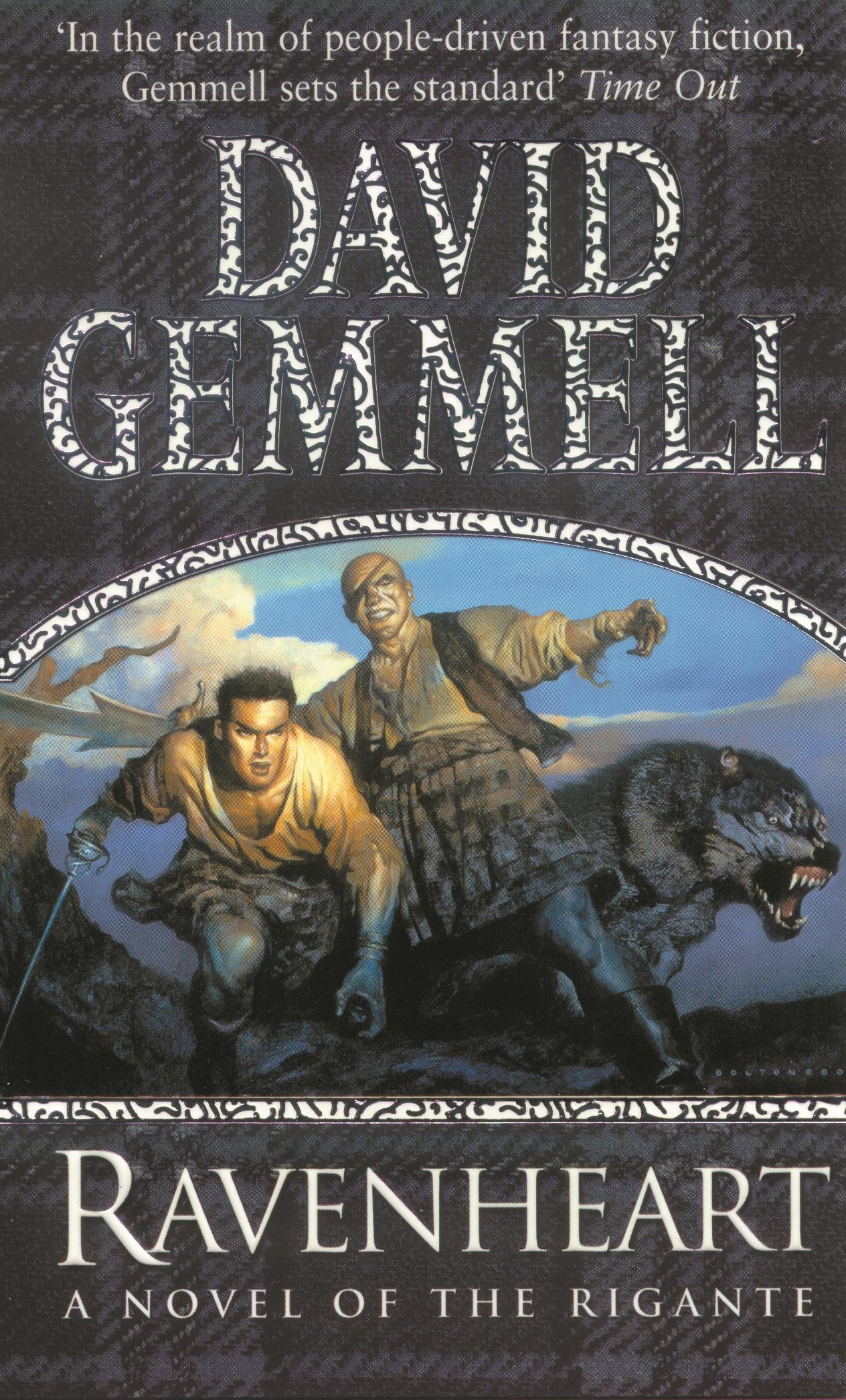 David Gemmell Book Cover Art : Ravenheart a novel of the rigante by david gemmell