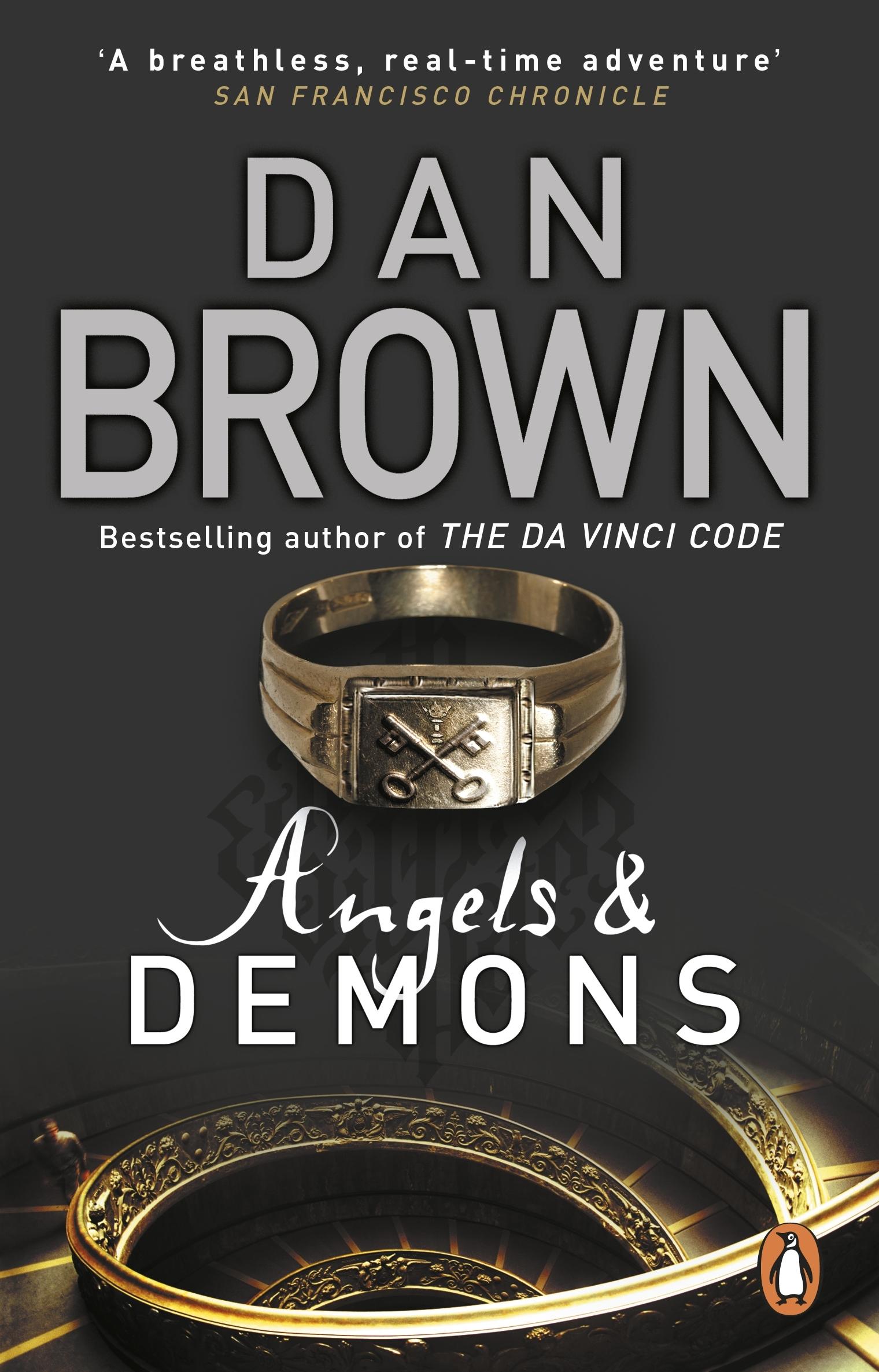 Angels And Demons by Dan Brown   Penguin Books Australia