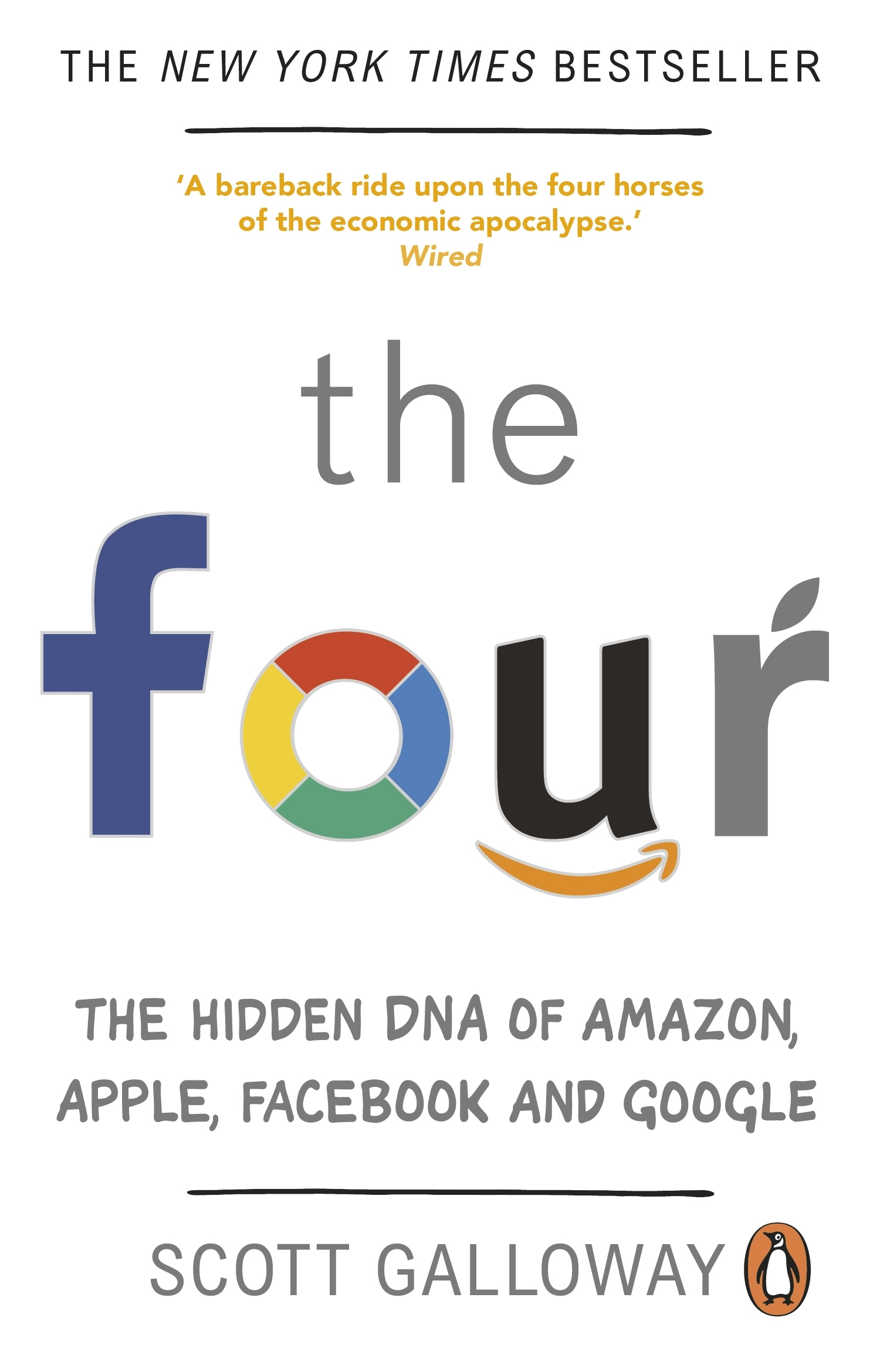 The Four by Scott Galloway - Penguin Books New Zealand