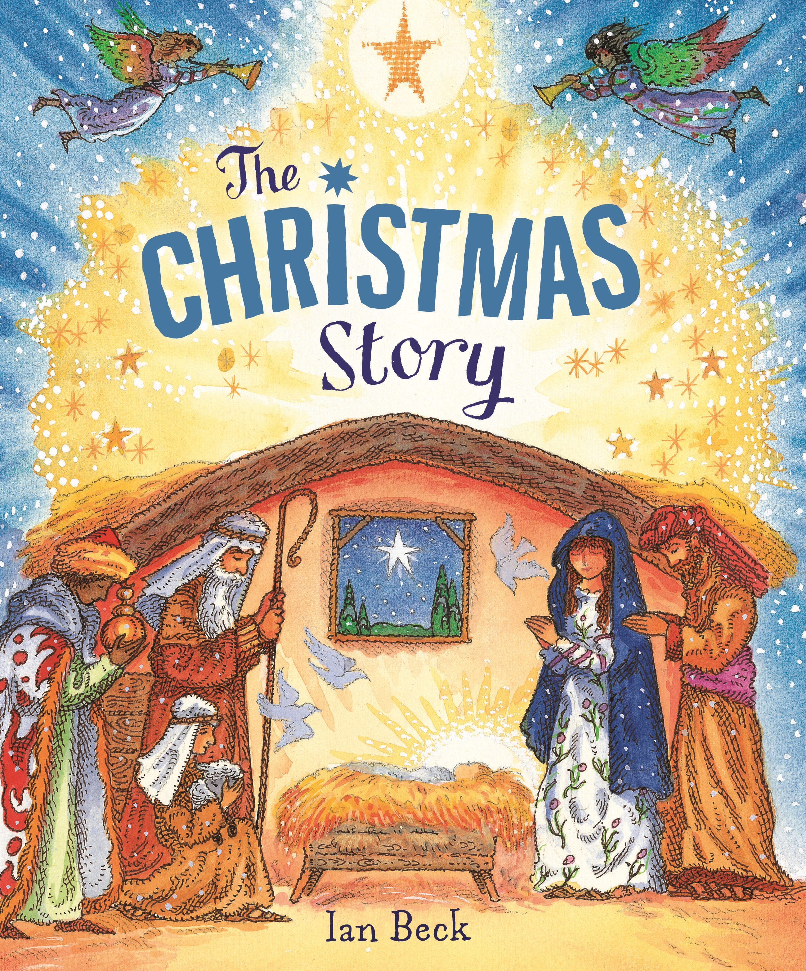 The Christmas Story Book.The Christmas Story By Ian Beck Penguin Books New Zealand