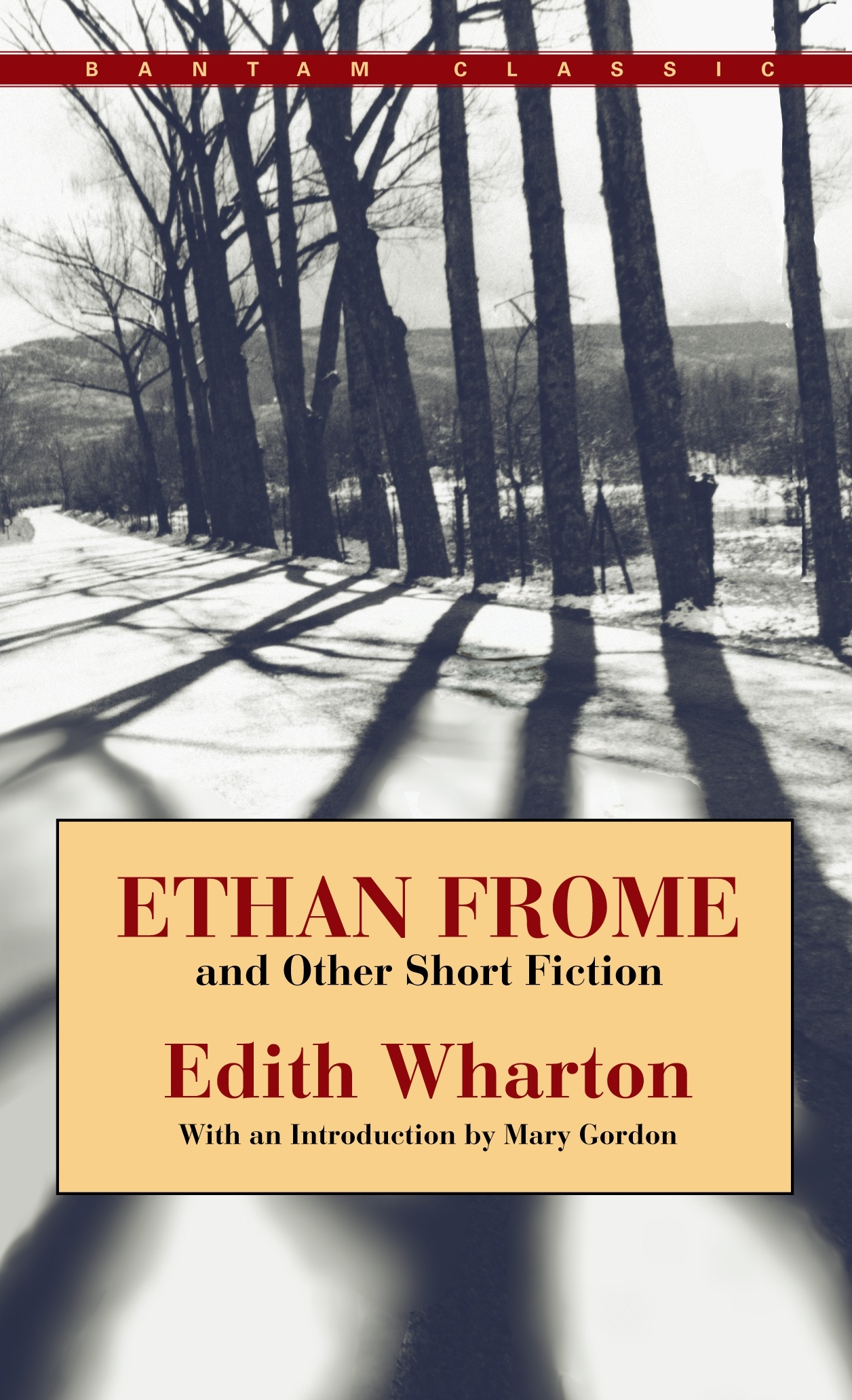 Ethan Frome And Other Short Stories by Edith Wharton