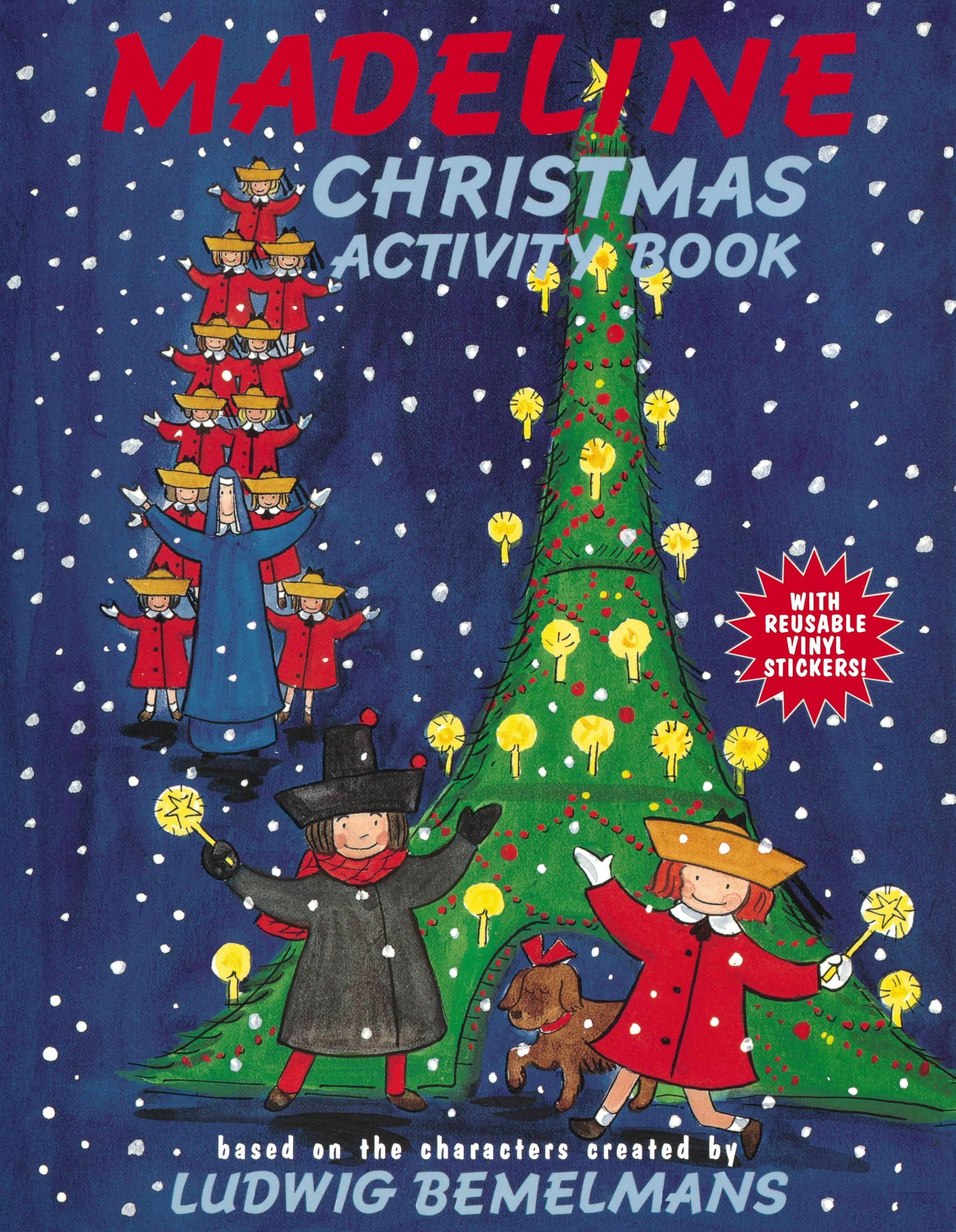 Christmas In Australia Book.Madeline Christmas Activity Book By Ludwig Bemelmans
