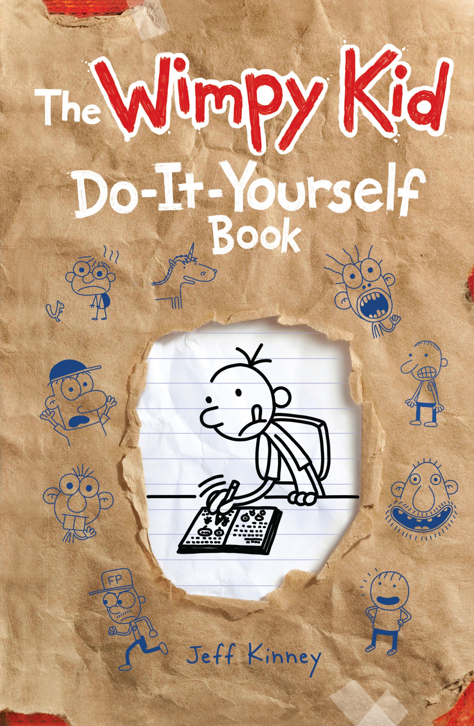 Do it yourself volume 2 diary of a wimpy kid by jeff kinney hi res cover do it yourself solutioingenieria