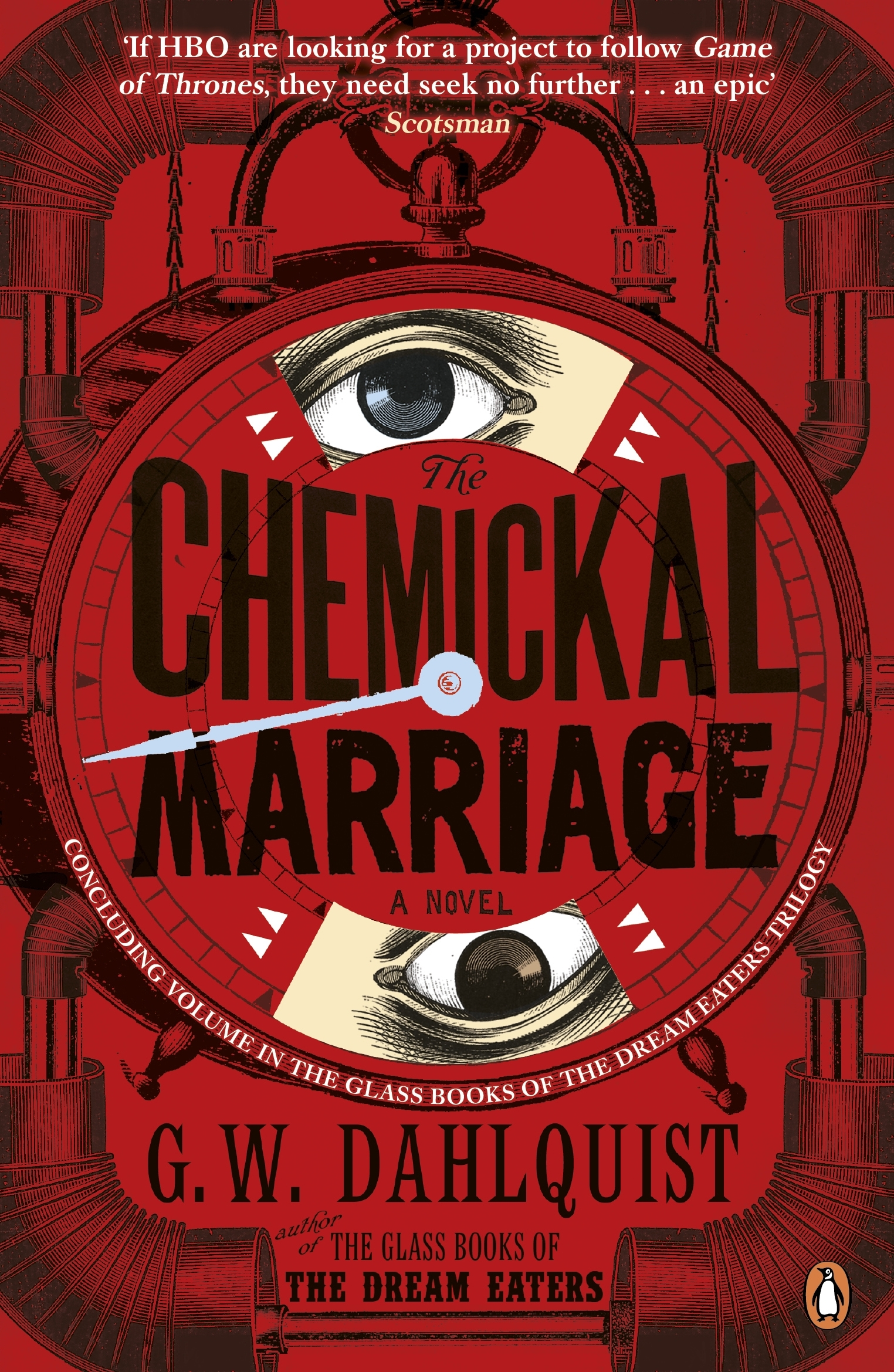 the chemickal marriage by g w dahlquist   penguin books