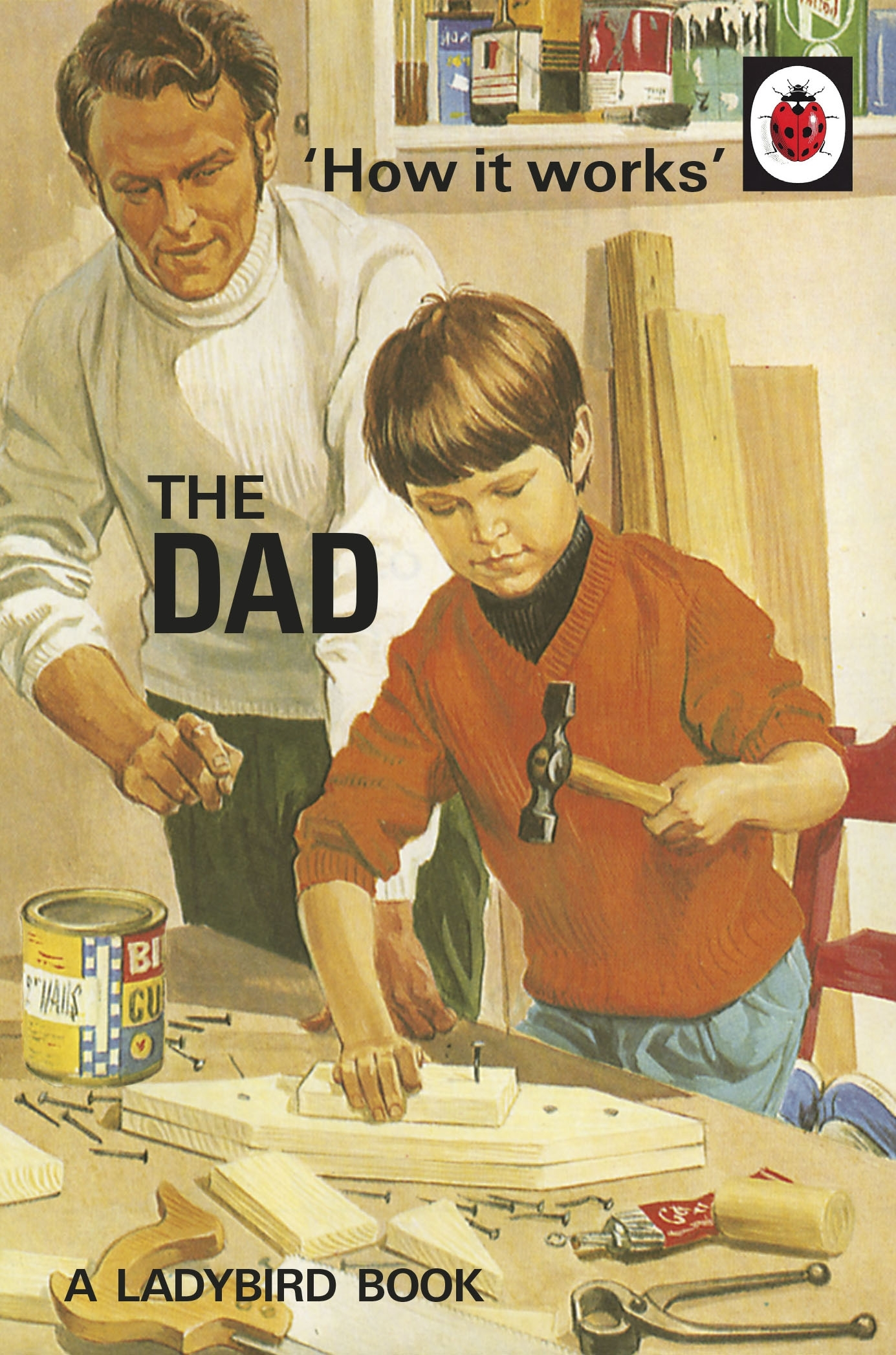 Ladybird Book Cover Pictures : How it works the dad by jason hazeley penguin books