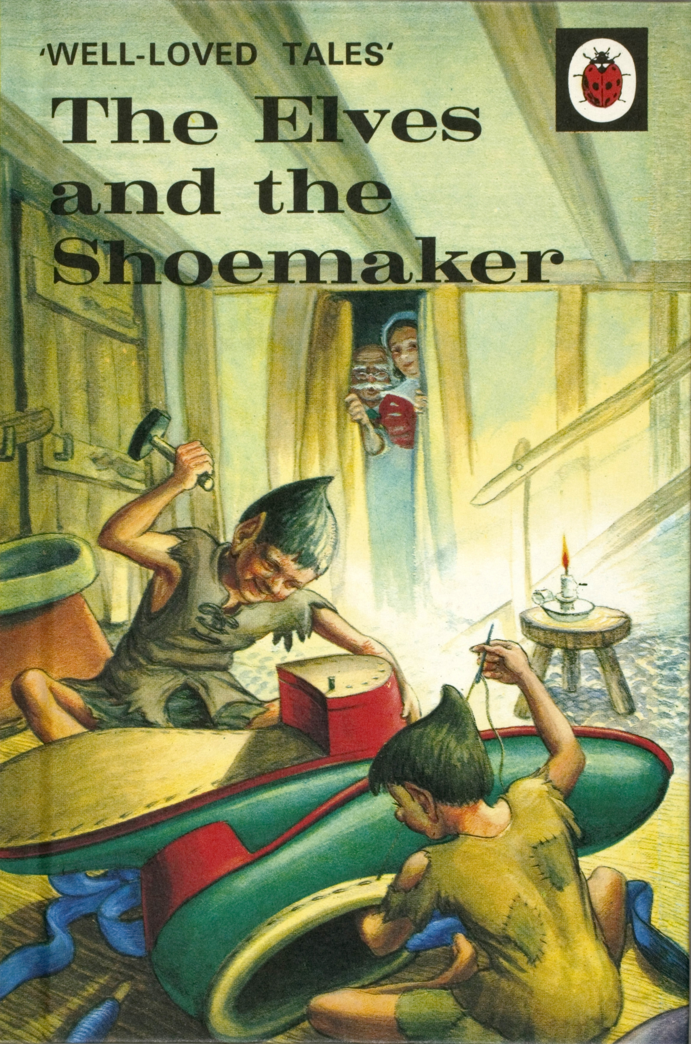 Ladybird Book Cover Pictures ~ Ladybird well loved tales the elves and shoemaker