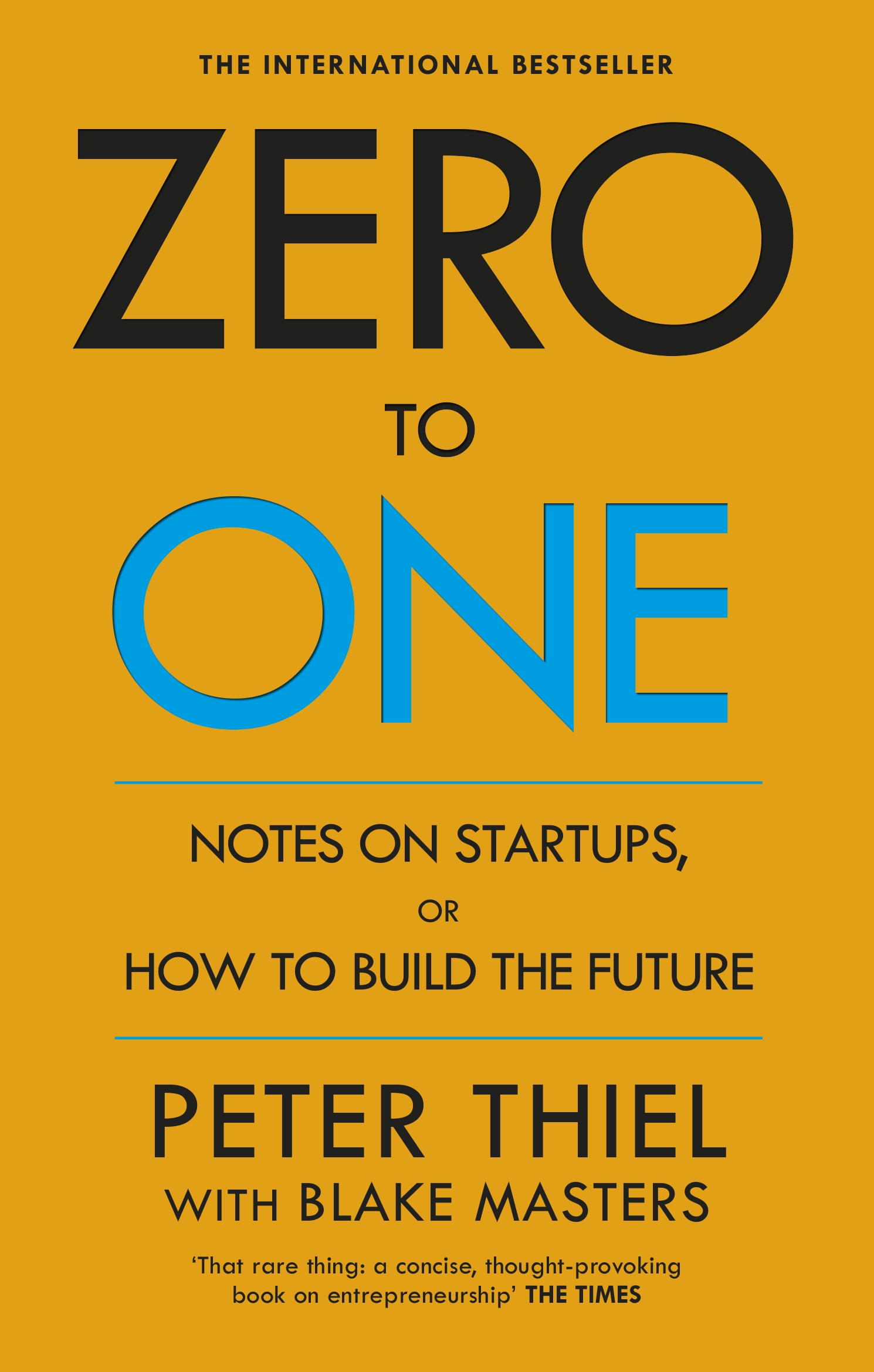 Zero To One By Peter Thiel Penguin Books New Zealand