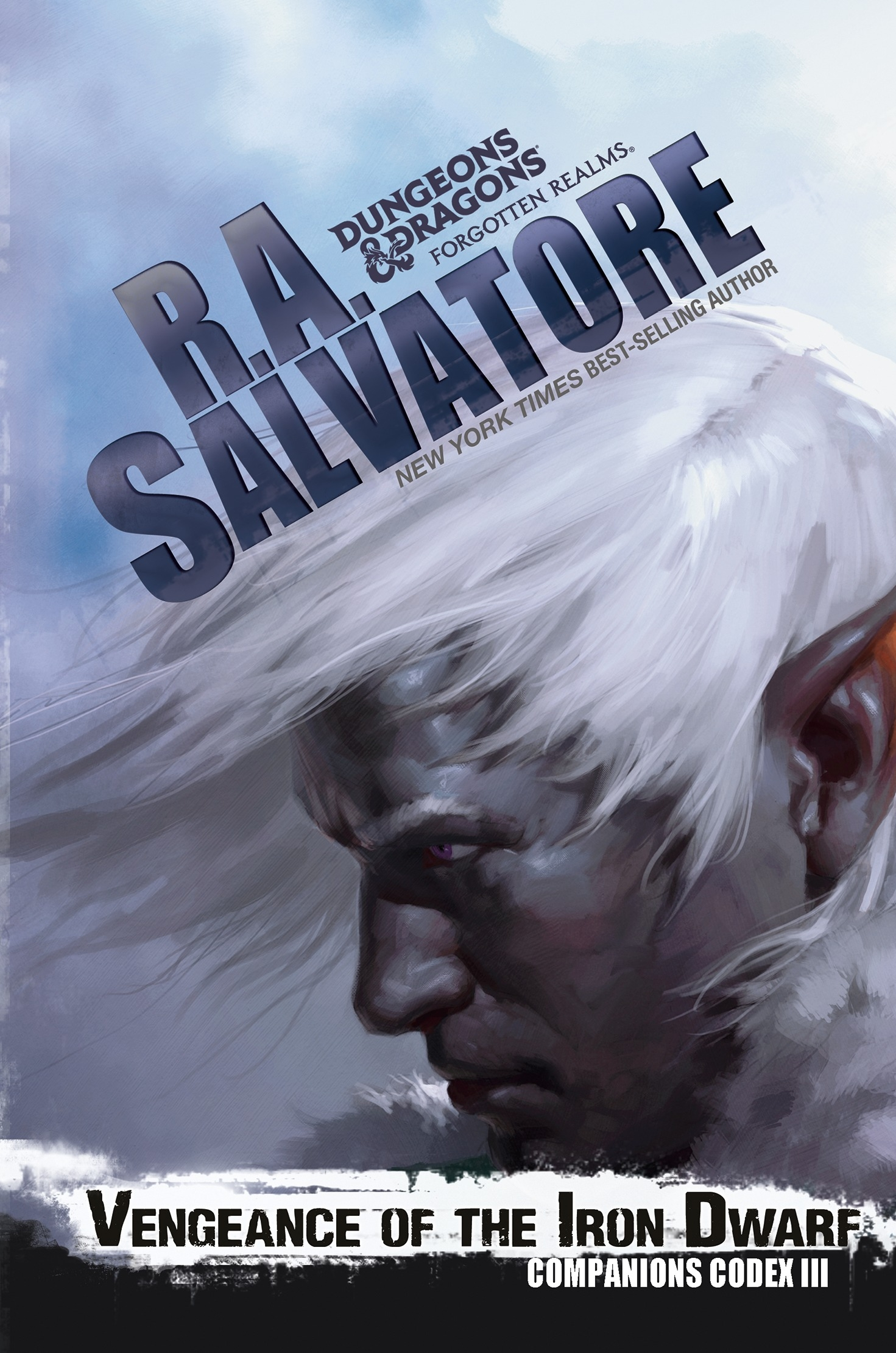 Vengeance of the Iron Dwarf by R  A  Salvatore - Penguin Books New