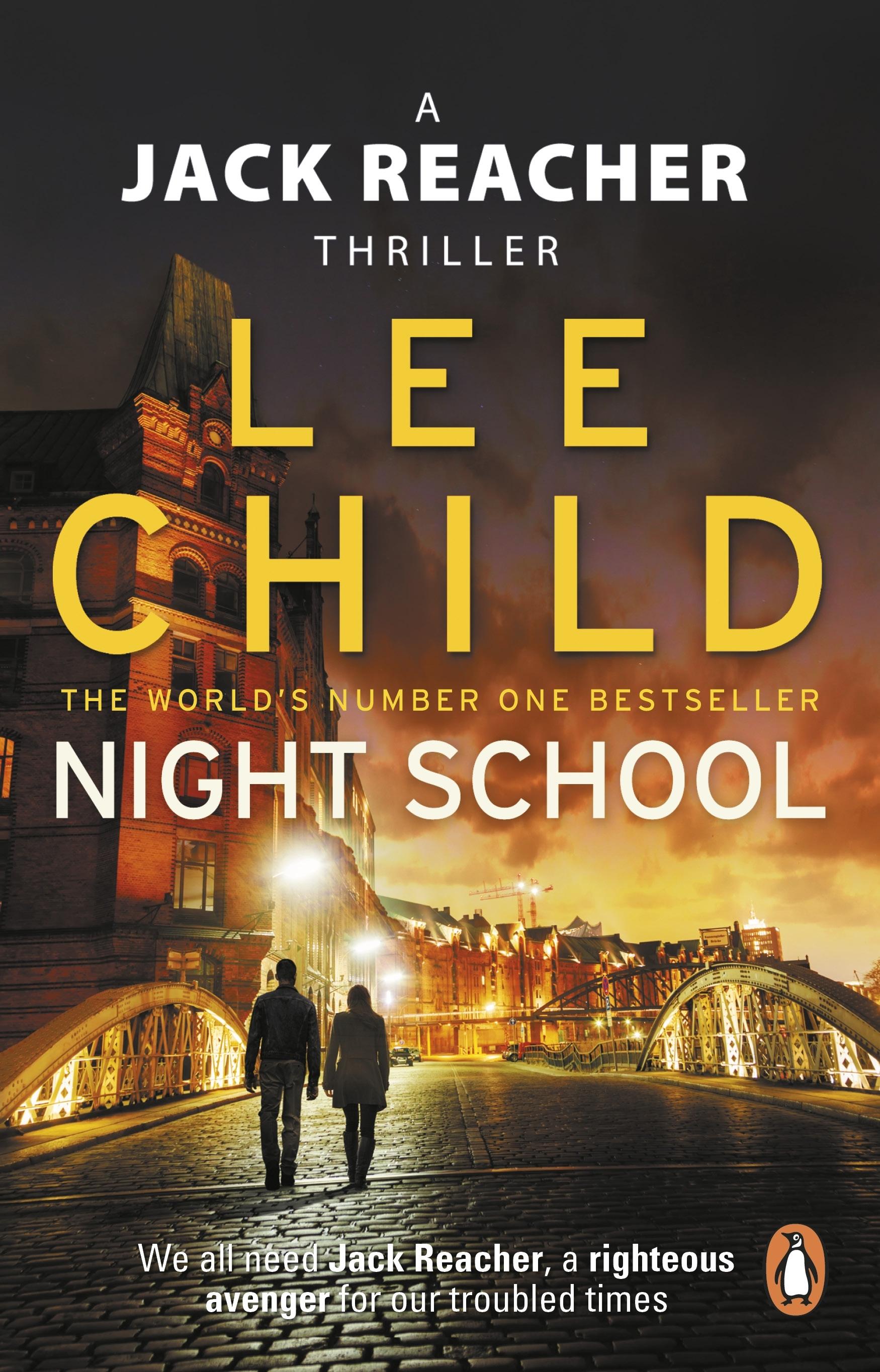 Extract night school by lee child penguin books australia hi res cover night school malvernweather Choice Image