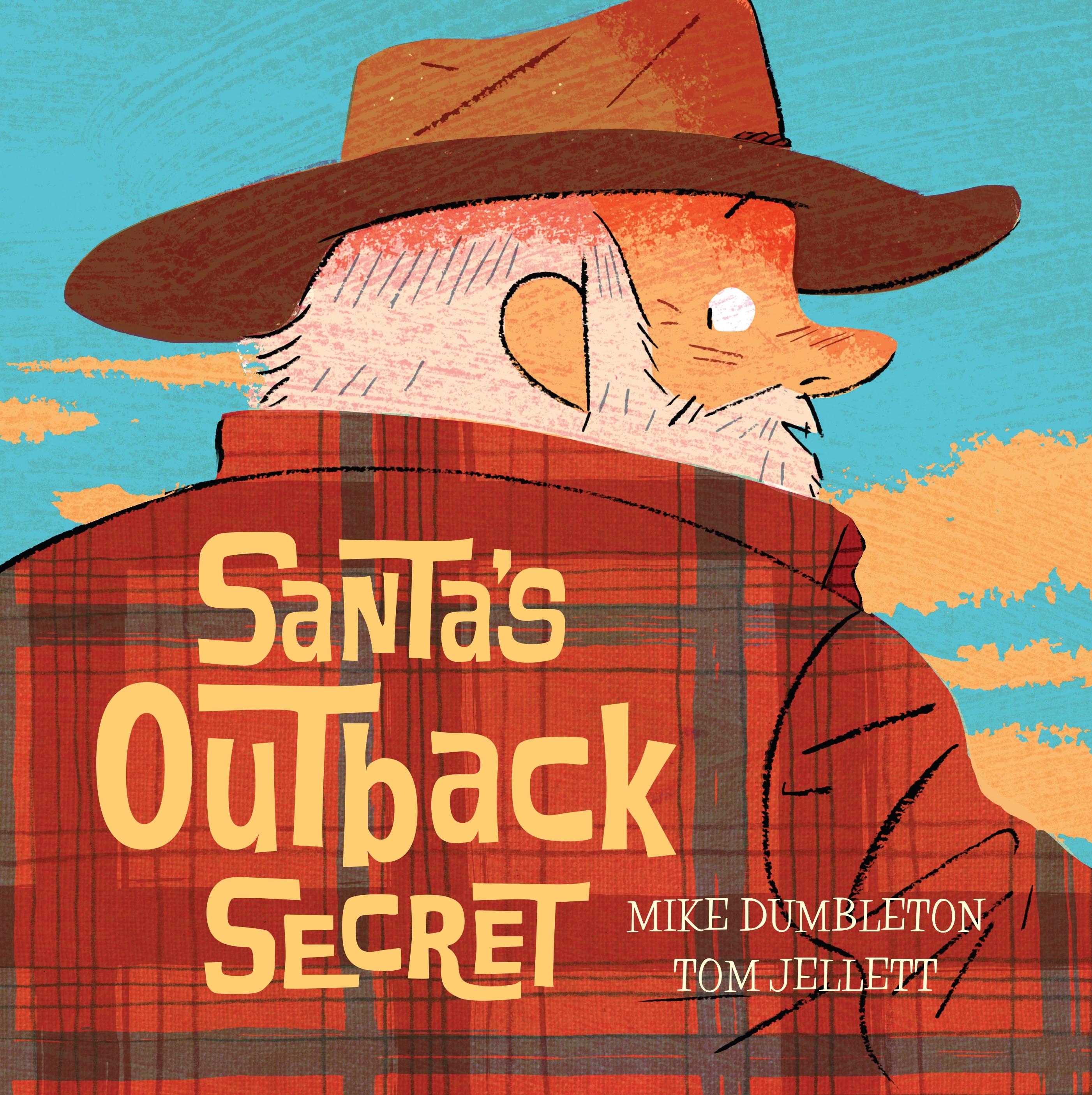 Christmas In Australia Book.Santa S Outback Secret By Mike Dumbleton Penguin Books