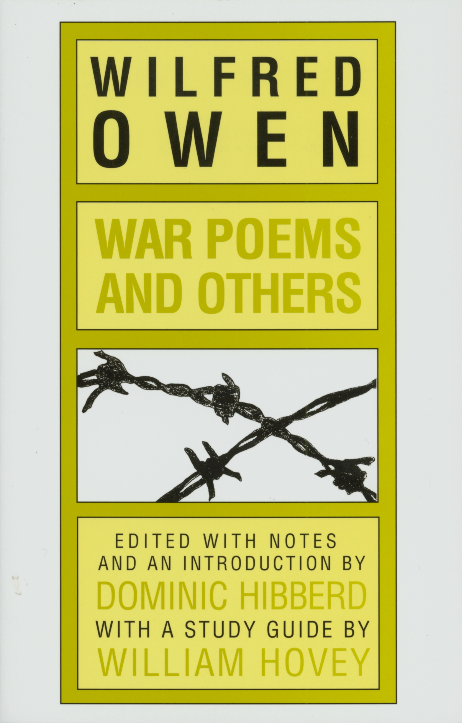War Poems And Others By Wilfred Owen Penguin Books Australia