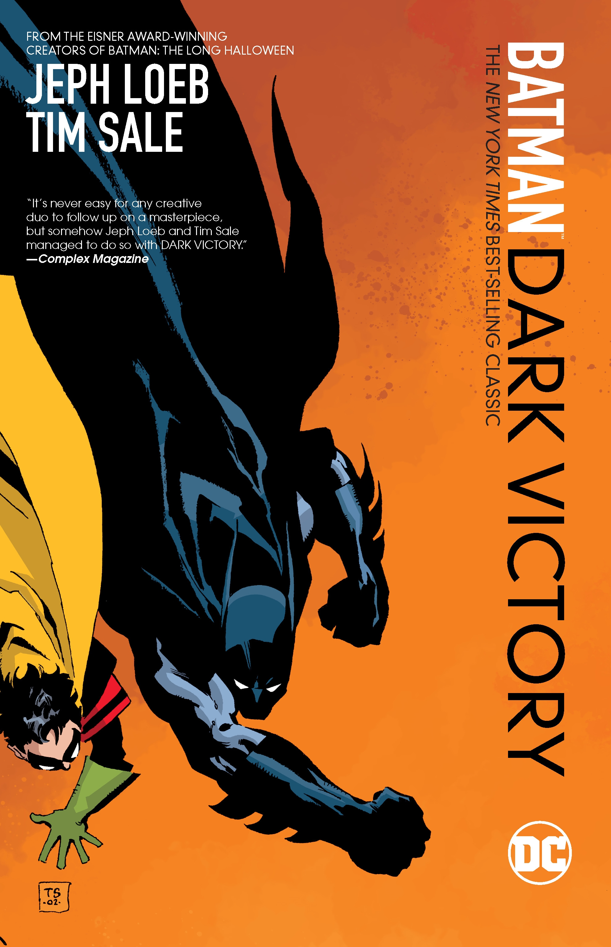 BATMAN DARK VICTORY TP (Jeph LOEB & Tim SALE)