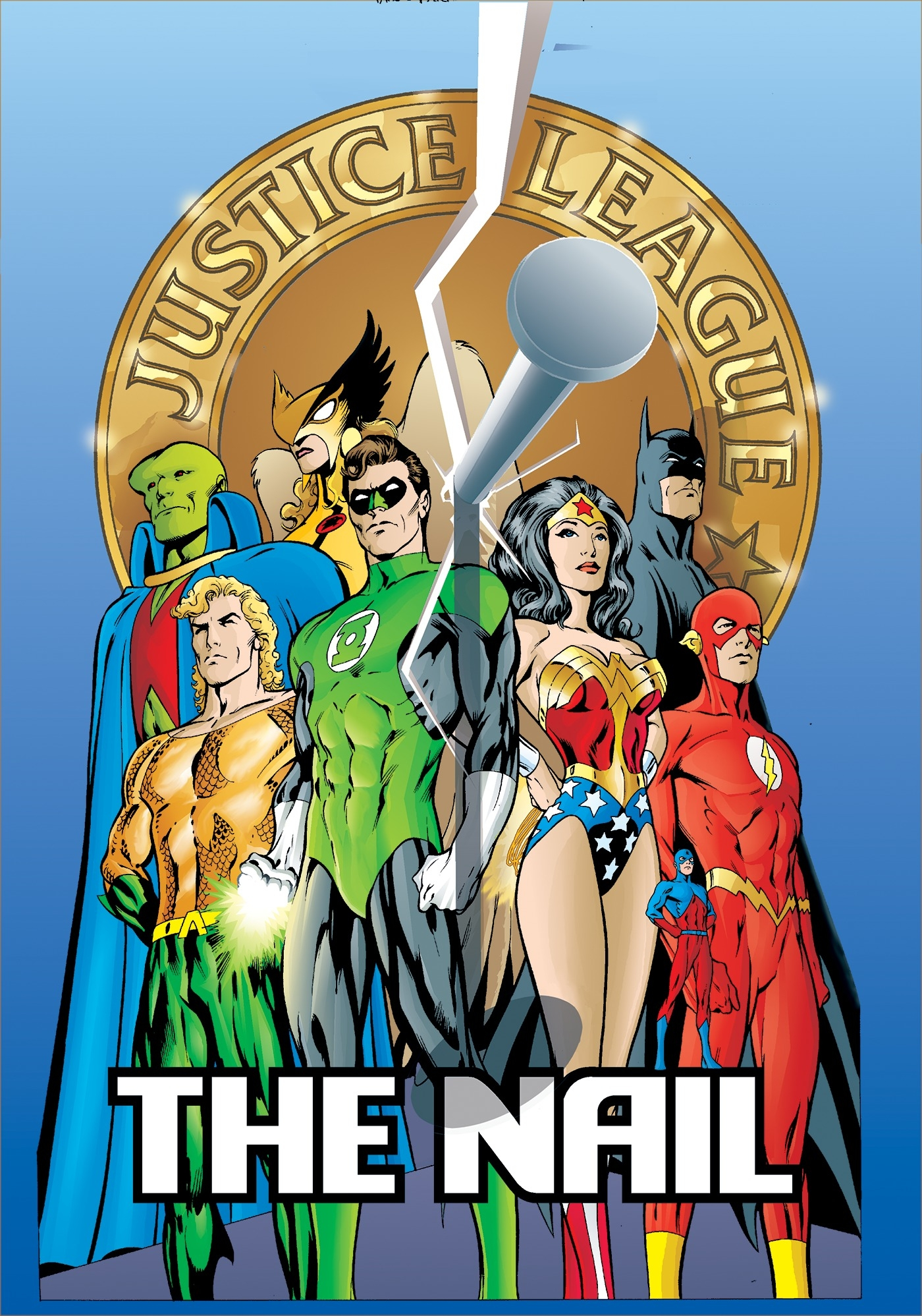 JLA The Nail/Another Nail Deluxe Edition by Alan Davis - Penguin ...