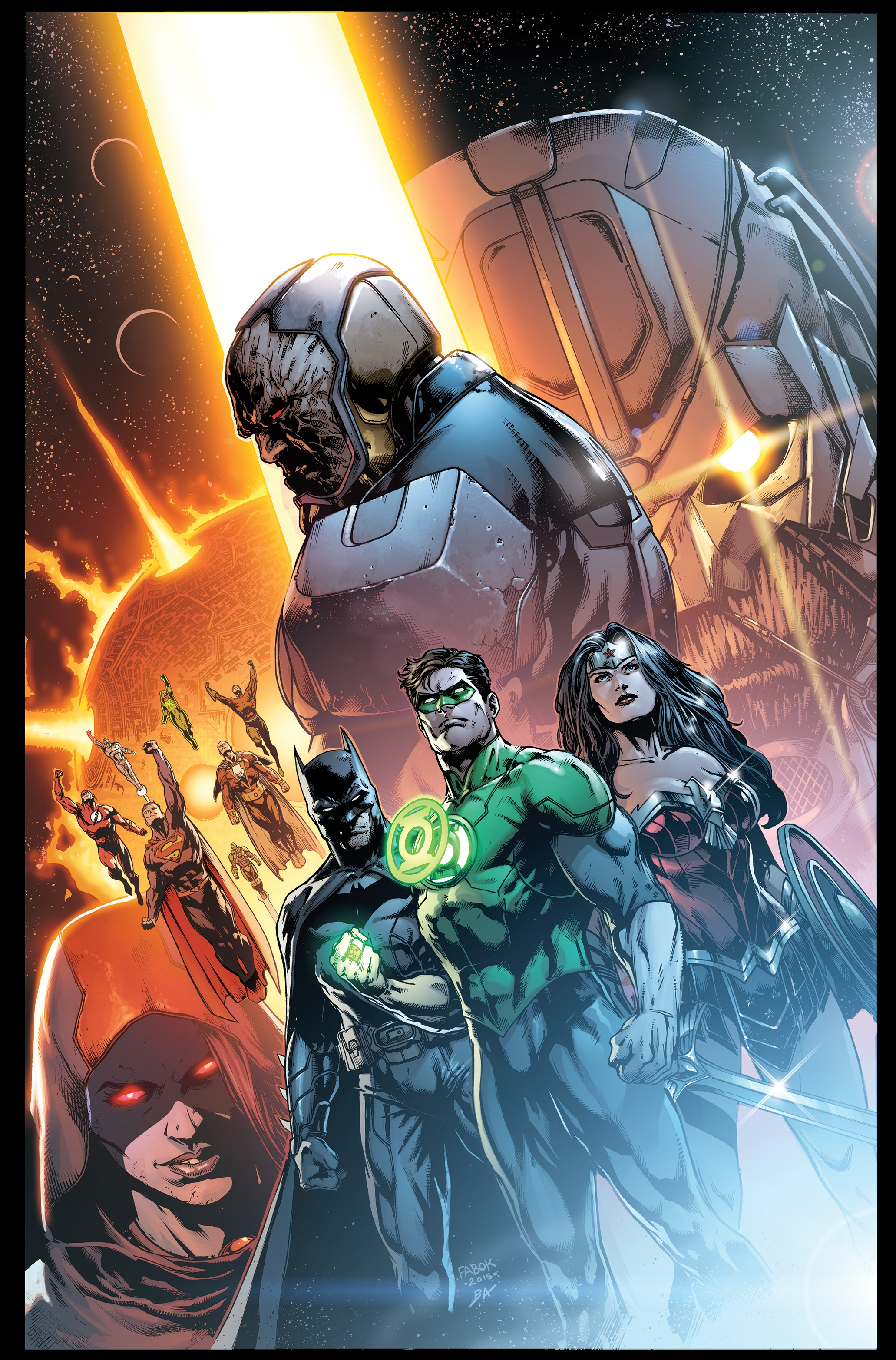 6 One Shots Complete Darkseid War Set DC Johns Justice League 40-50 Special