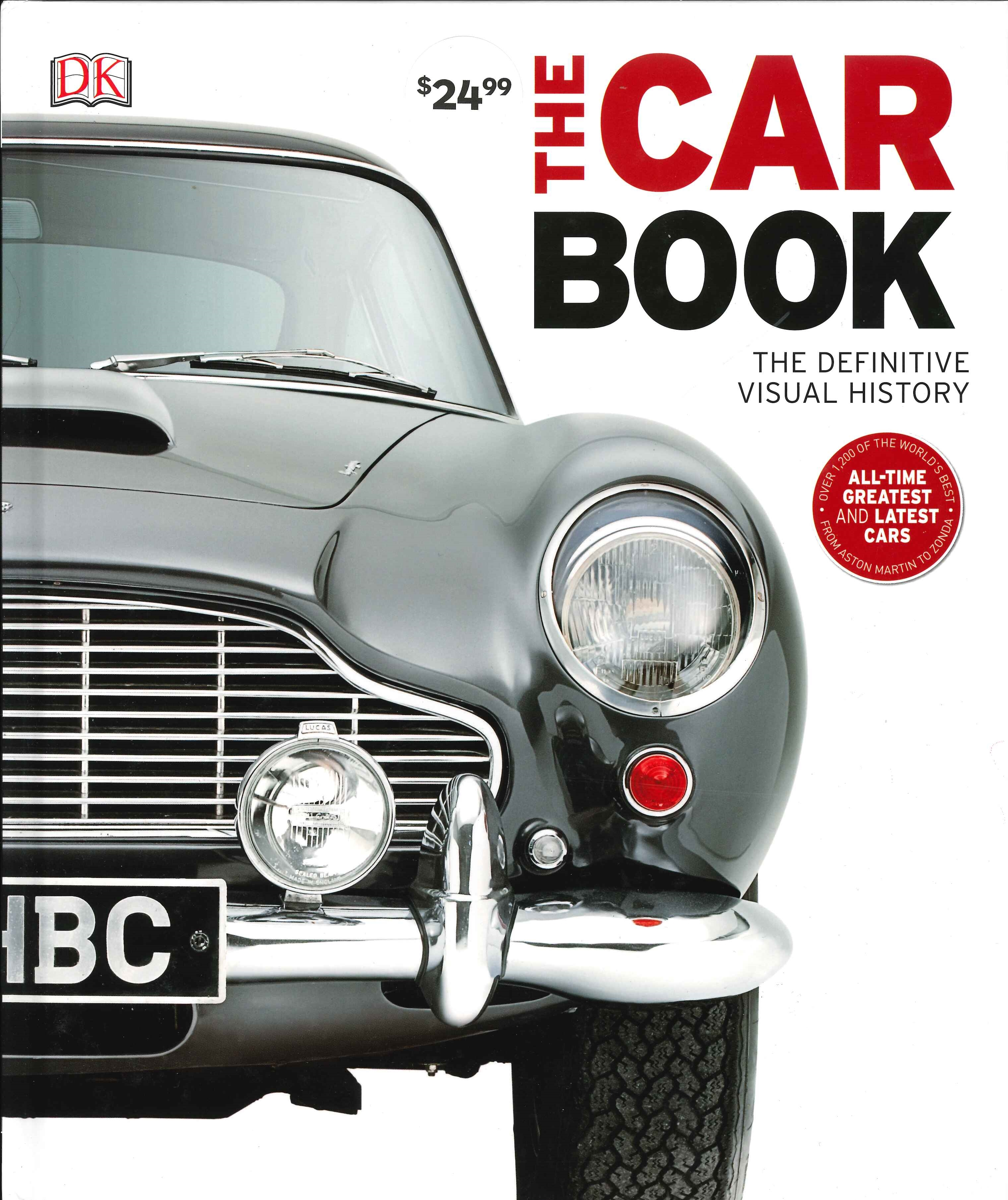 The Car Book >> The Car Book The Definitive Visual History By Dk Penguin Books