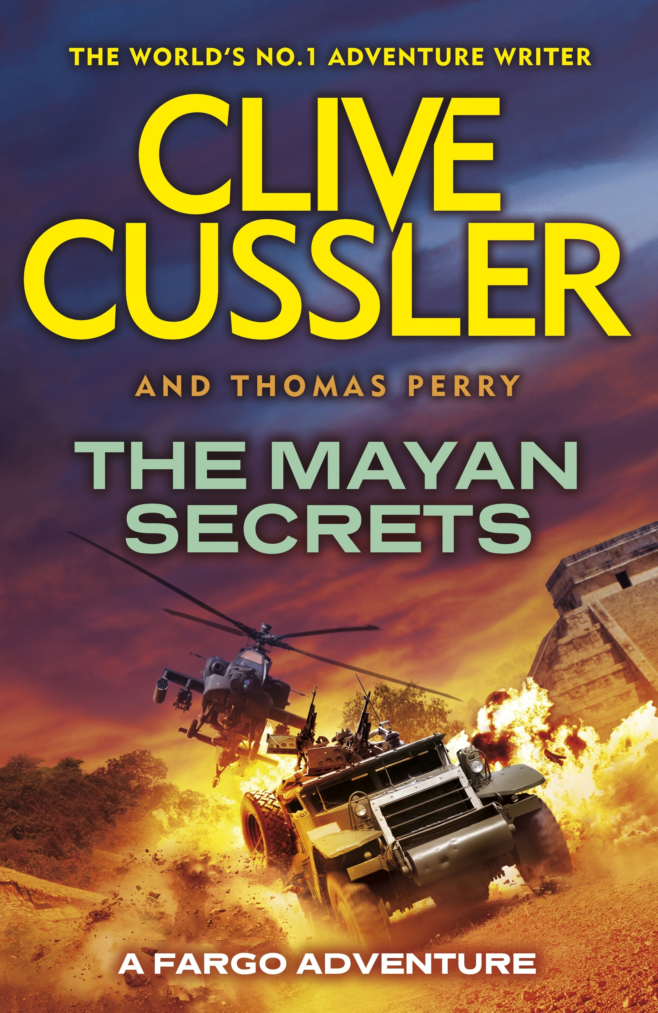 The Mayan Secrets: A Fargo Adventure. By Clive Cussler ...