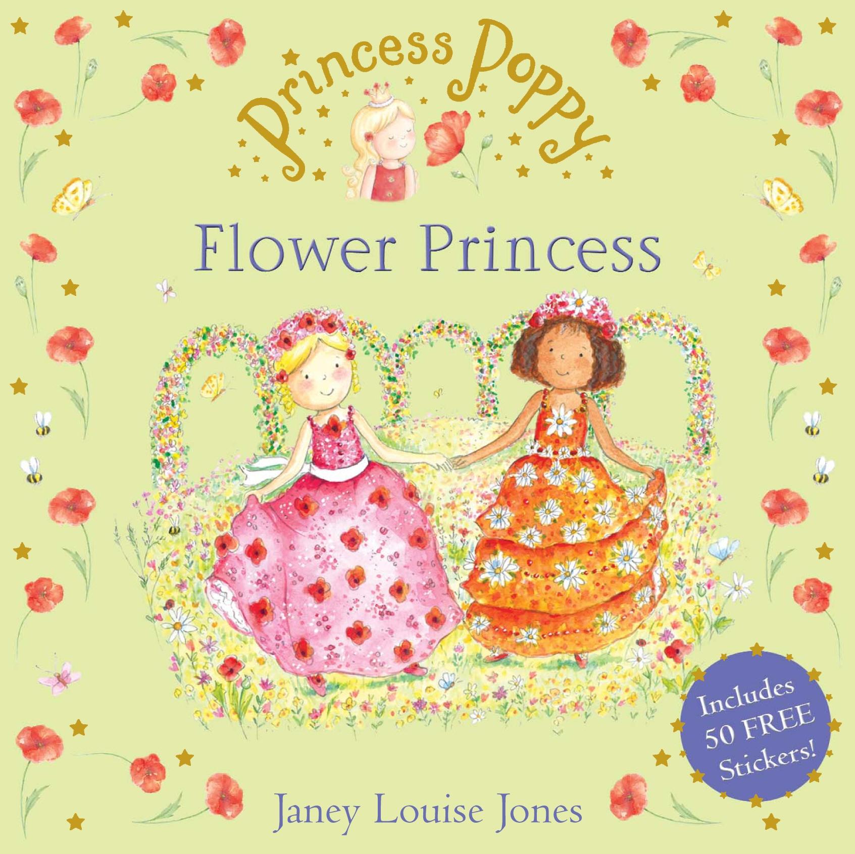 Princess Poppy The Flower Princess By Janey Louise Jones Penguin