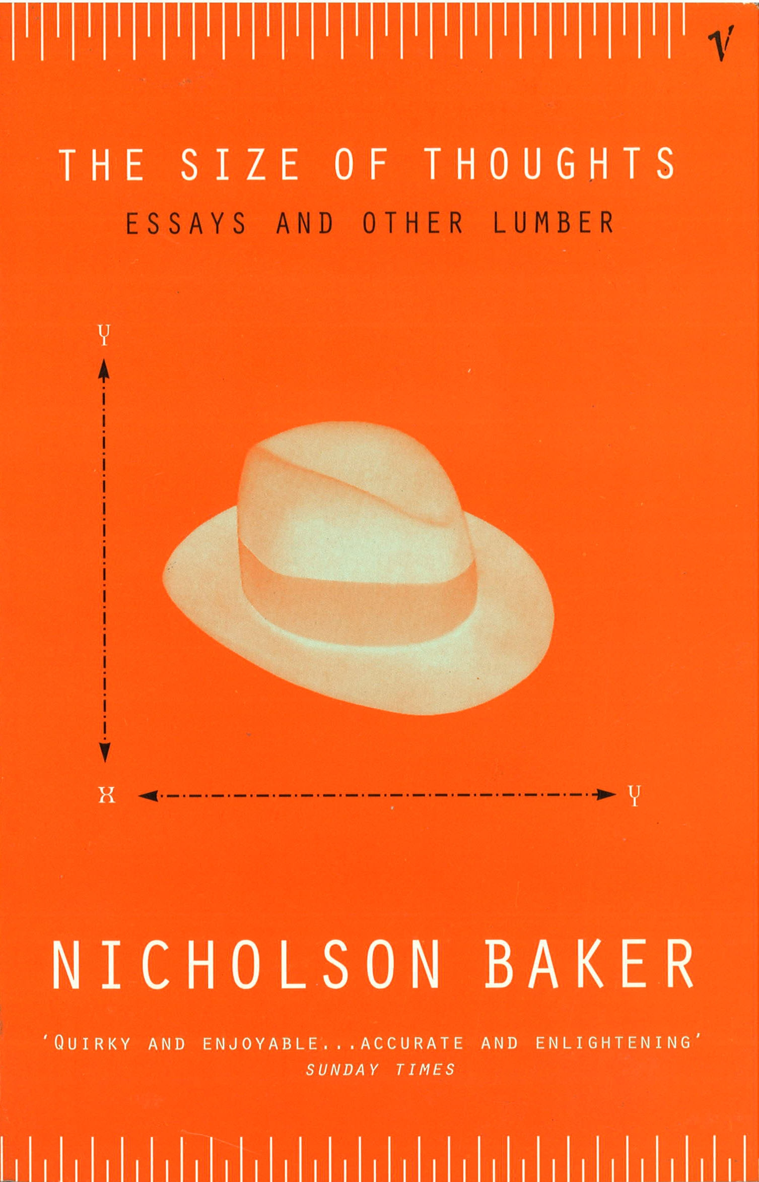 nicholson baker essay As well as the entire lrb archive of over 16,500 essays and reviews   nicholson baker's new novel vox is also 'about telephone sex',.