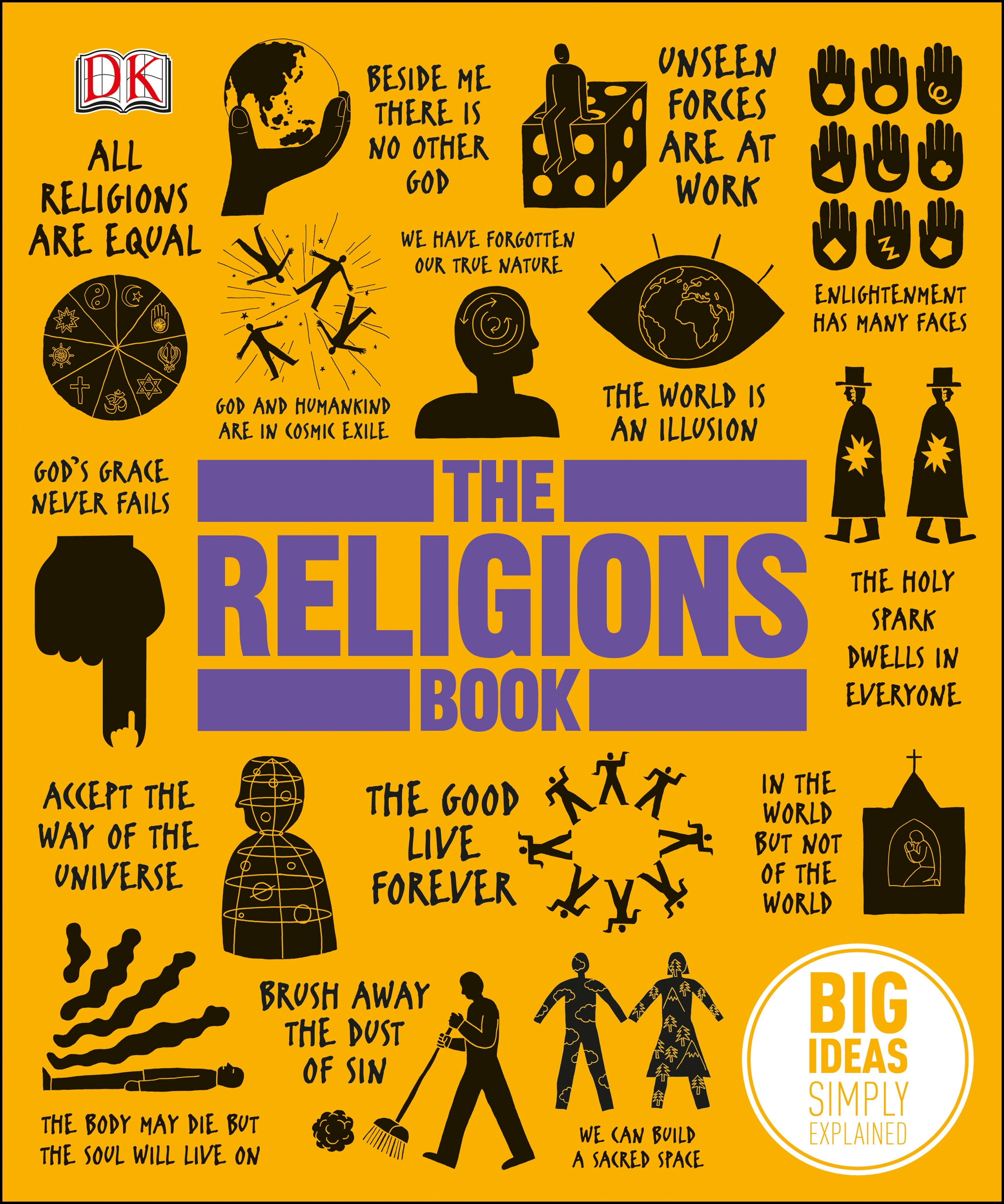 The Religions Book By DK Penguin Books Australia - World religions explained
