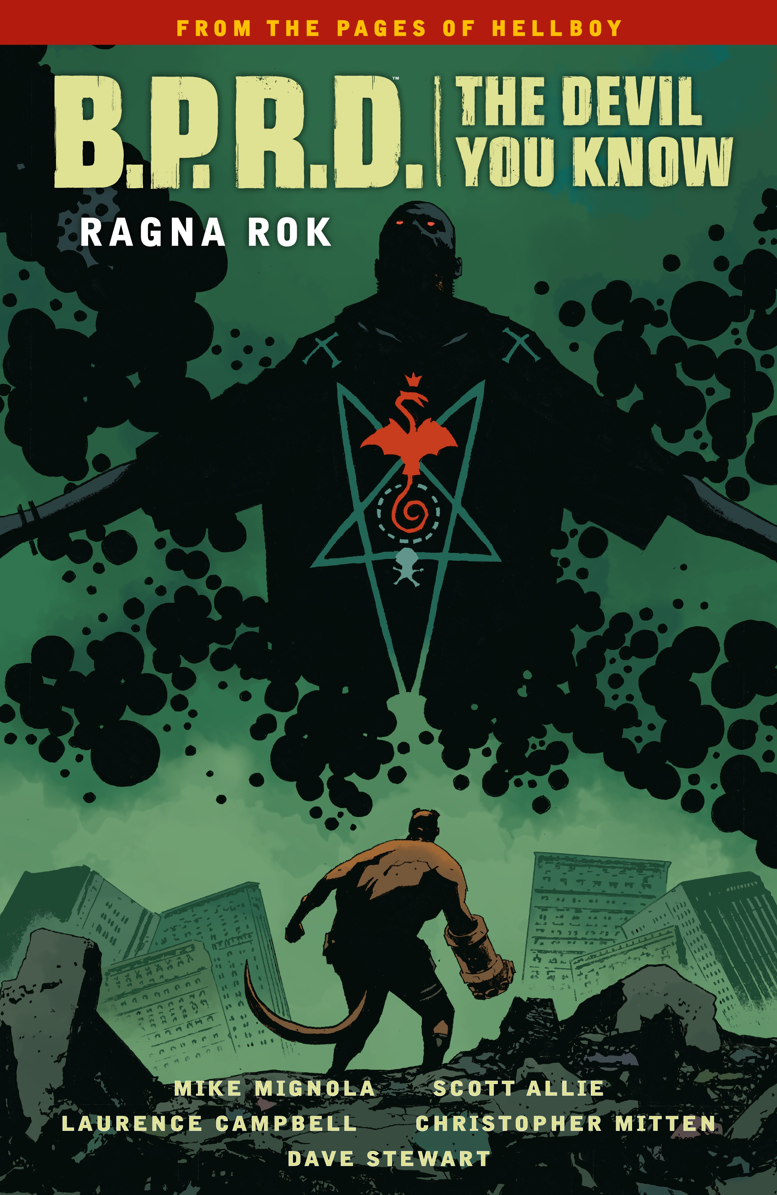 db70a0c687fe9 B.P.R.D. The Devil You Know Volume 3-Ragna Rok by Mike Mignola ...