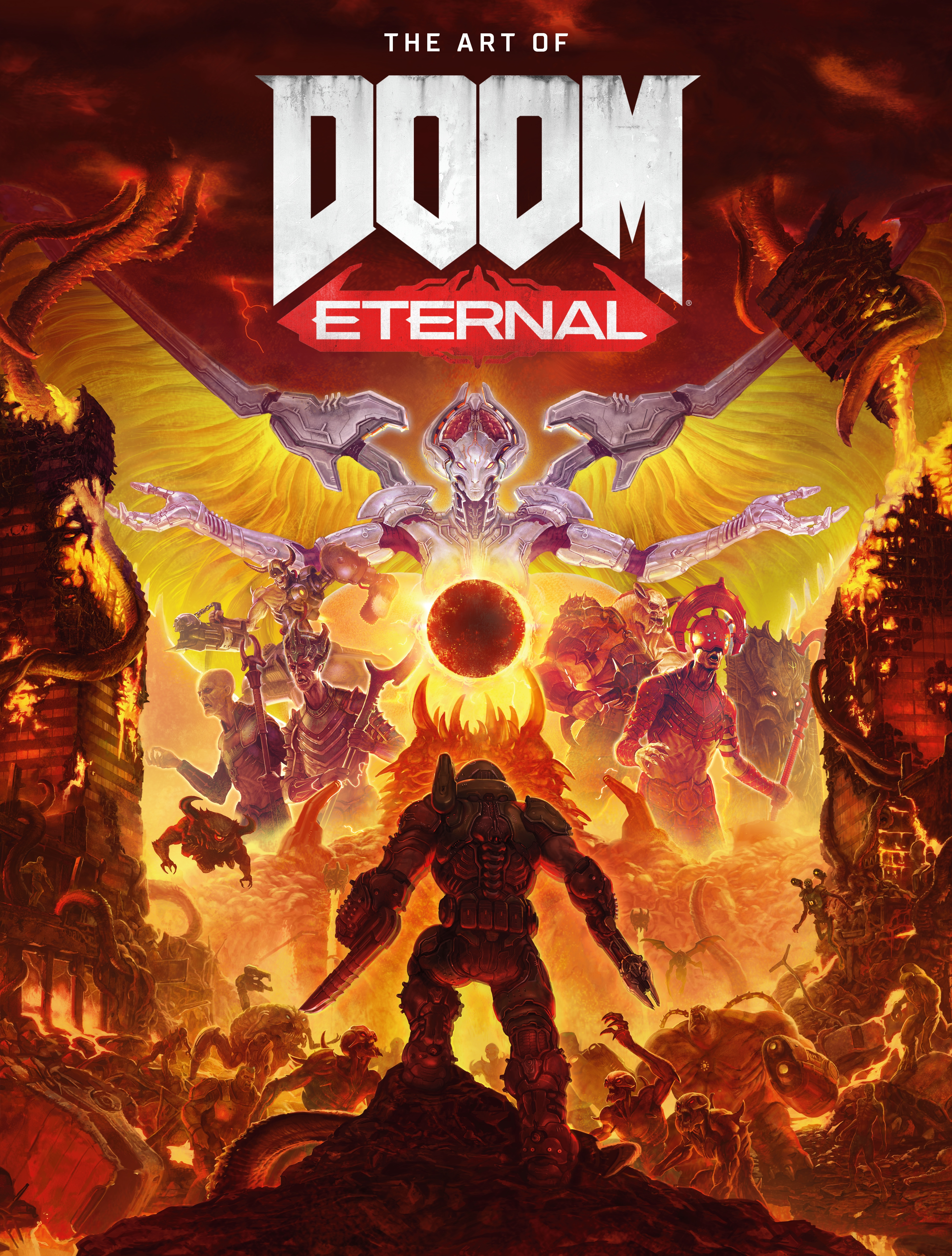 doom eternal art book