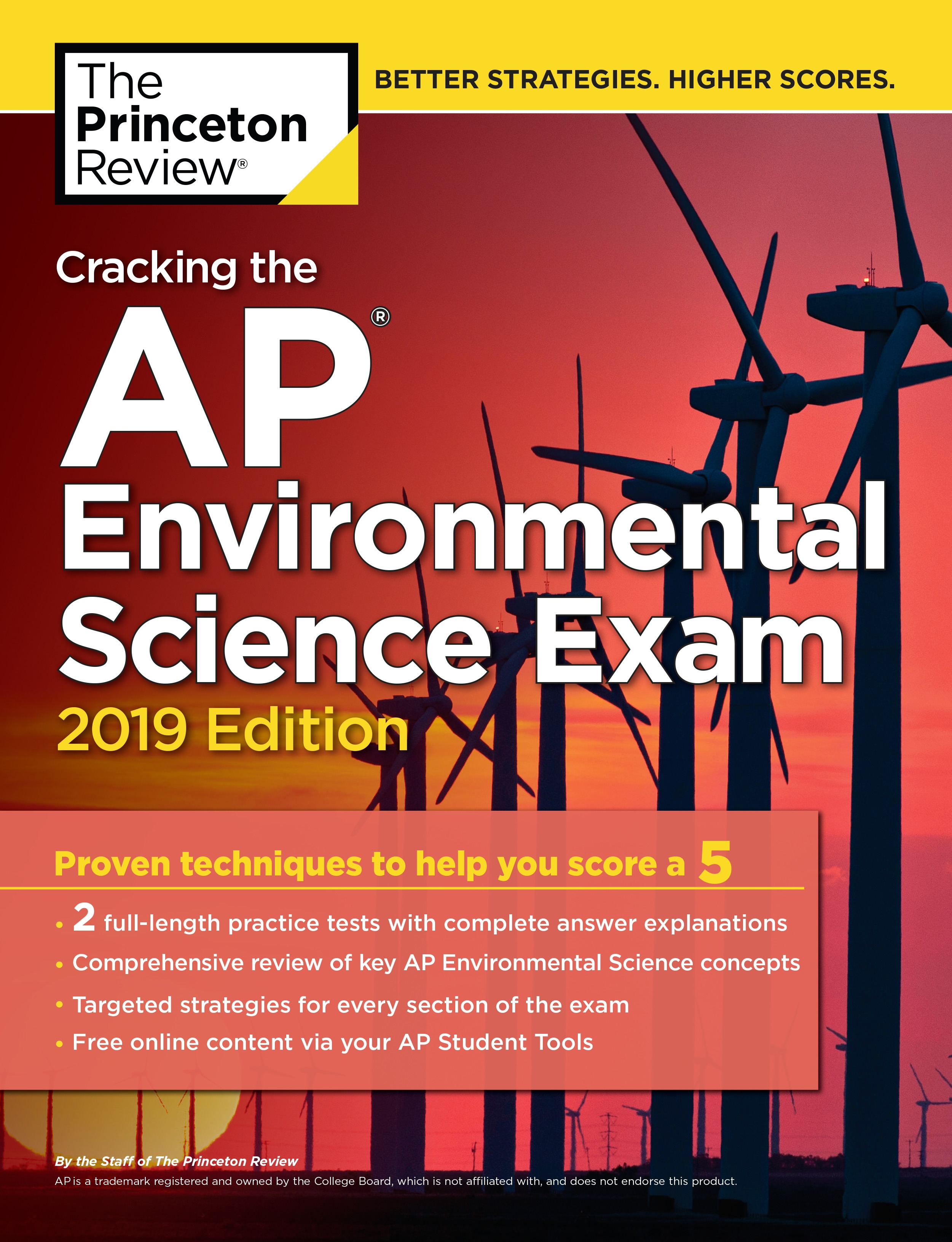 Cracking The AP Environmental Science Exam, 2019 Edition by