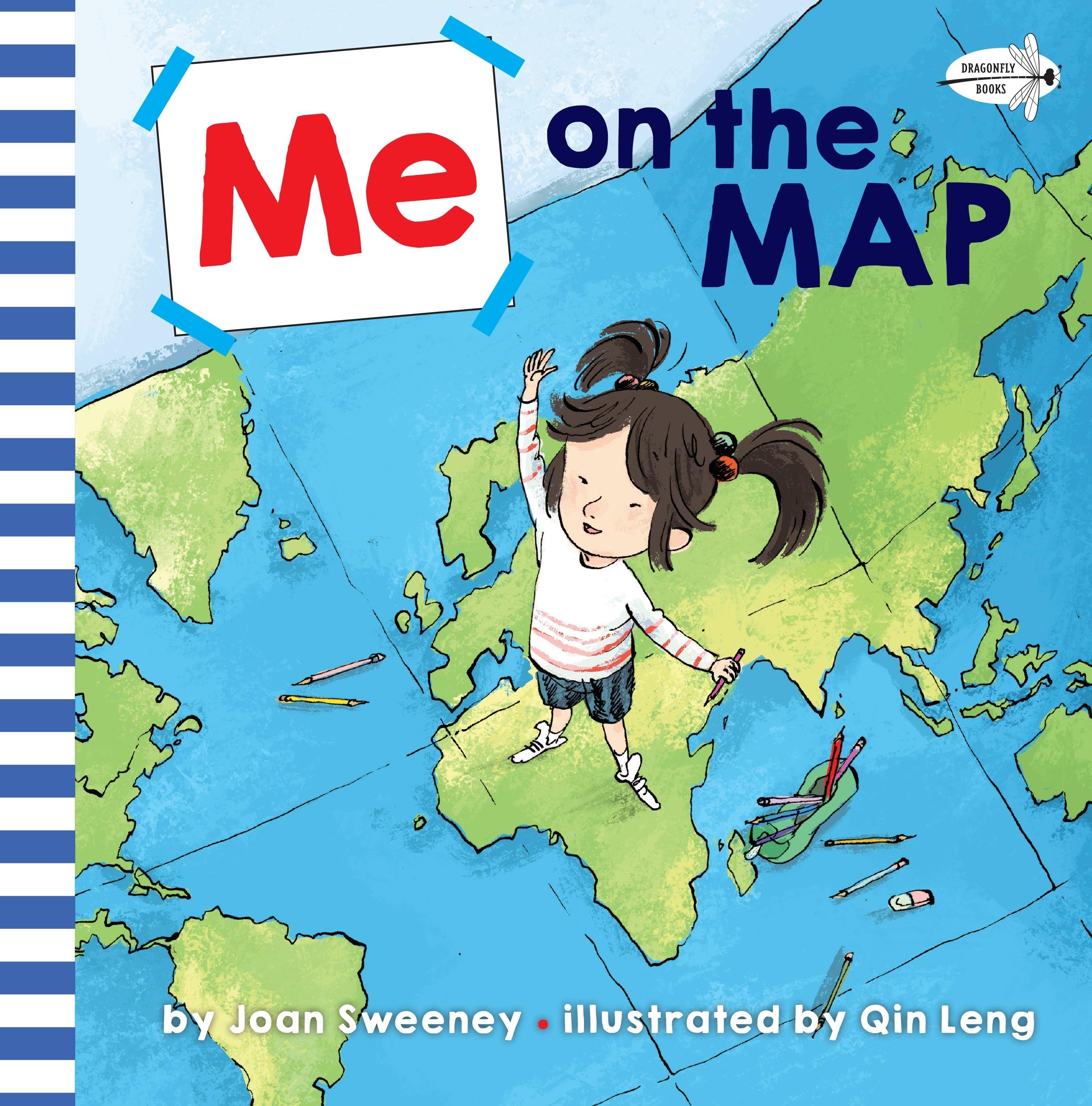 The Map Australia.Me On The Map By Joan Sweeney Penguin Books Australia