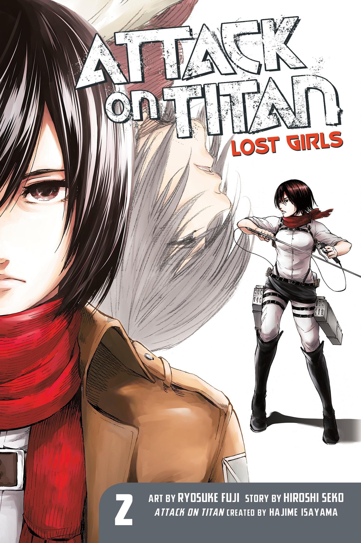 Attack On Titan Lost Girls The Manga 2
