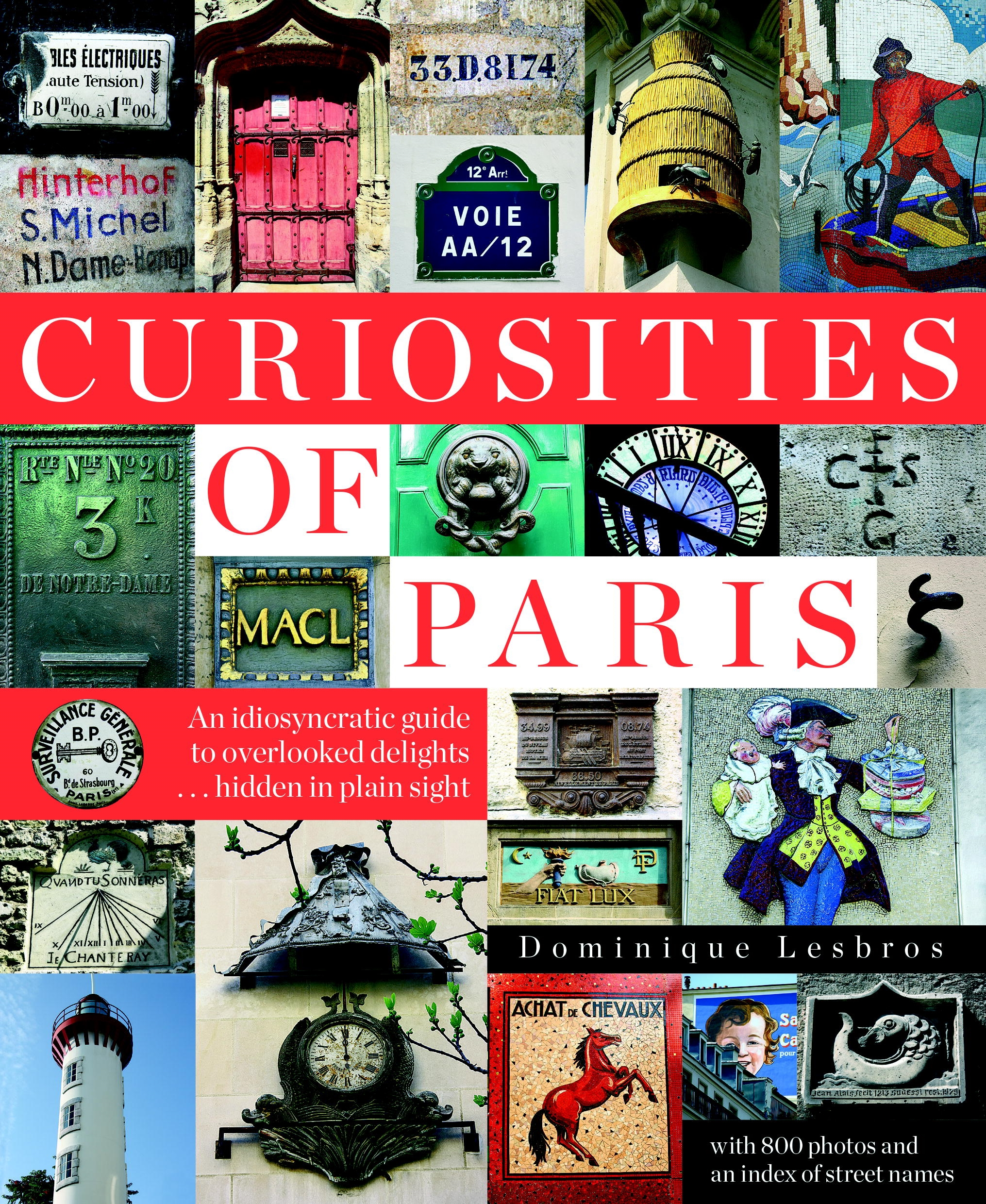 Curiosities Of Paris By Dominique Lesbros Penguin Books