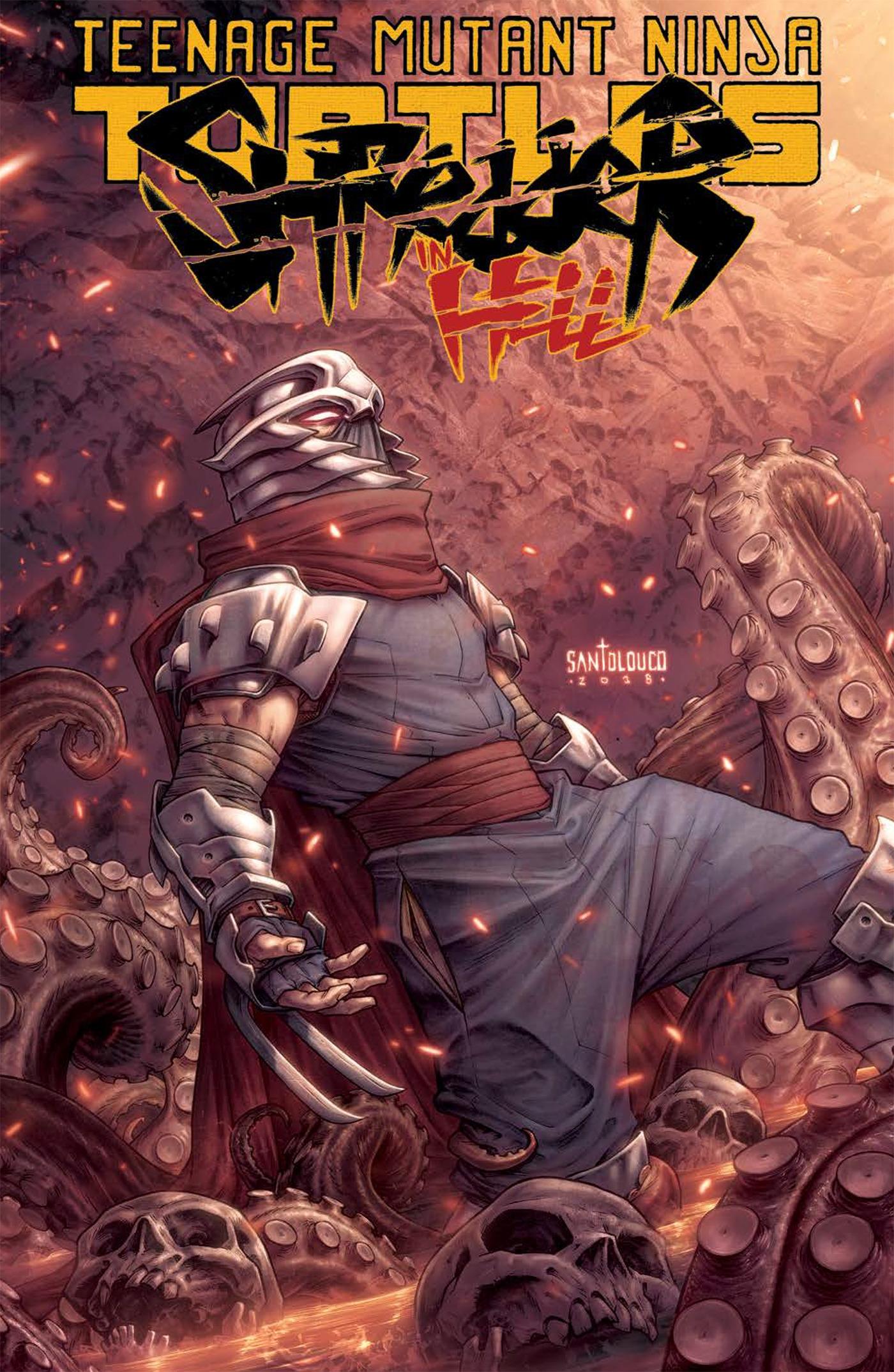 Teenage Mutant Ninja Turtles Shredder In Hell By Mateus