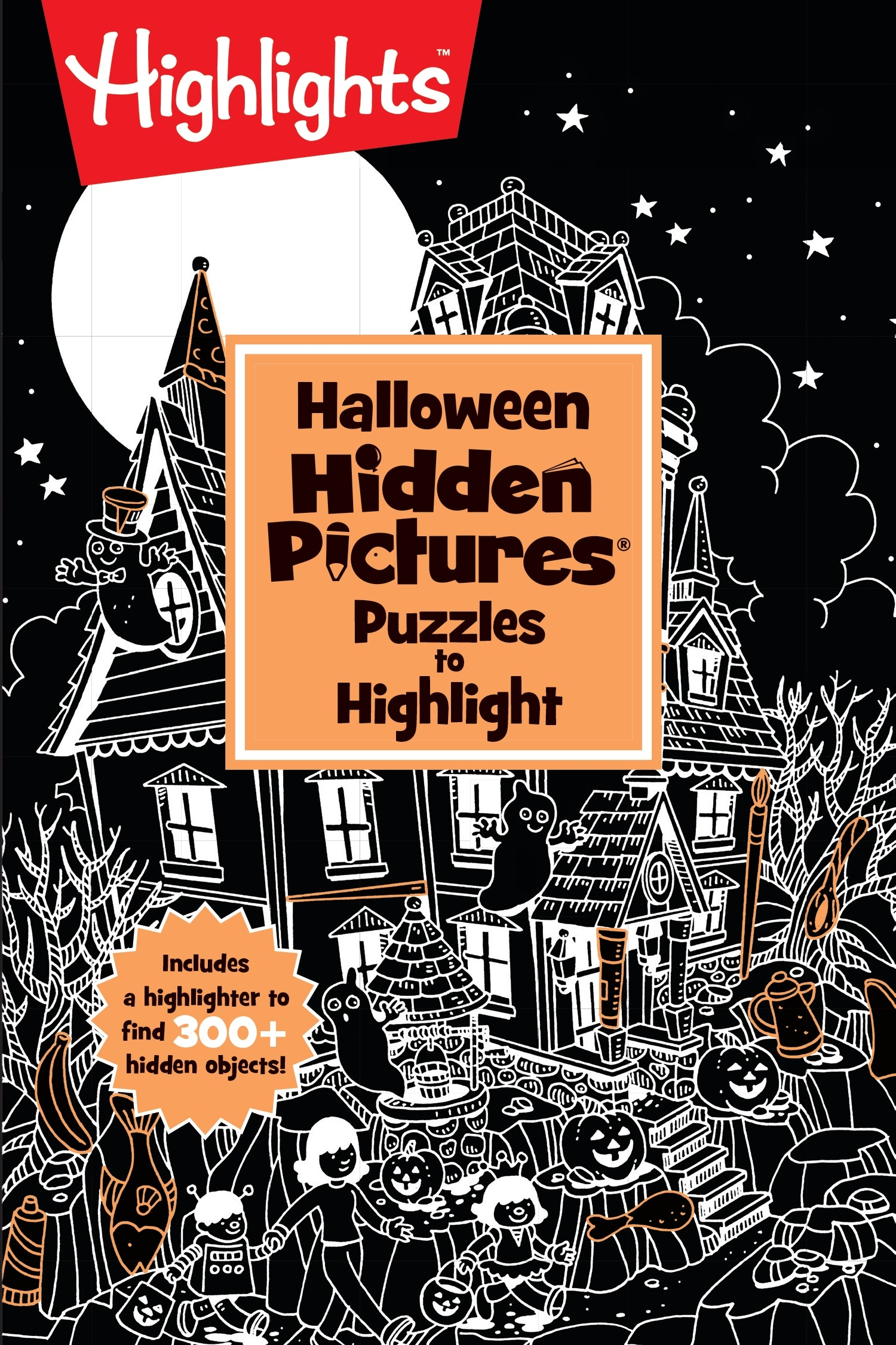 Halloween Hidden Pictures Puzzles To Highlight By Highlights