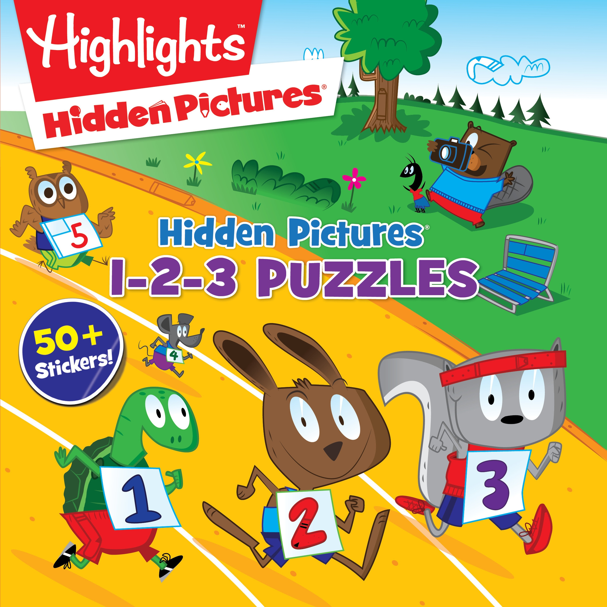 Hidden Pictures 1 2 3 Puzzles By Highlights Penguin Books Australia