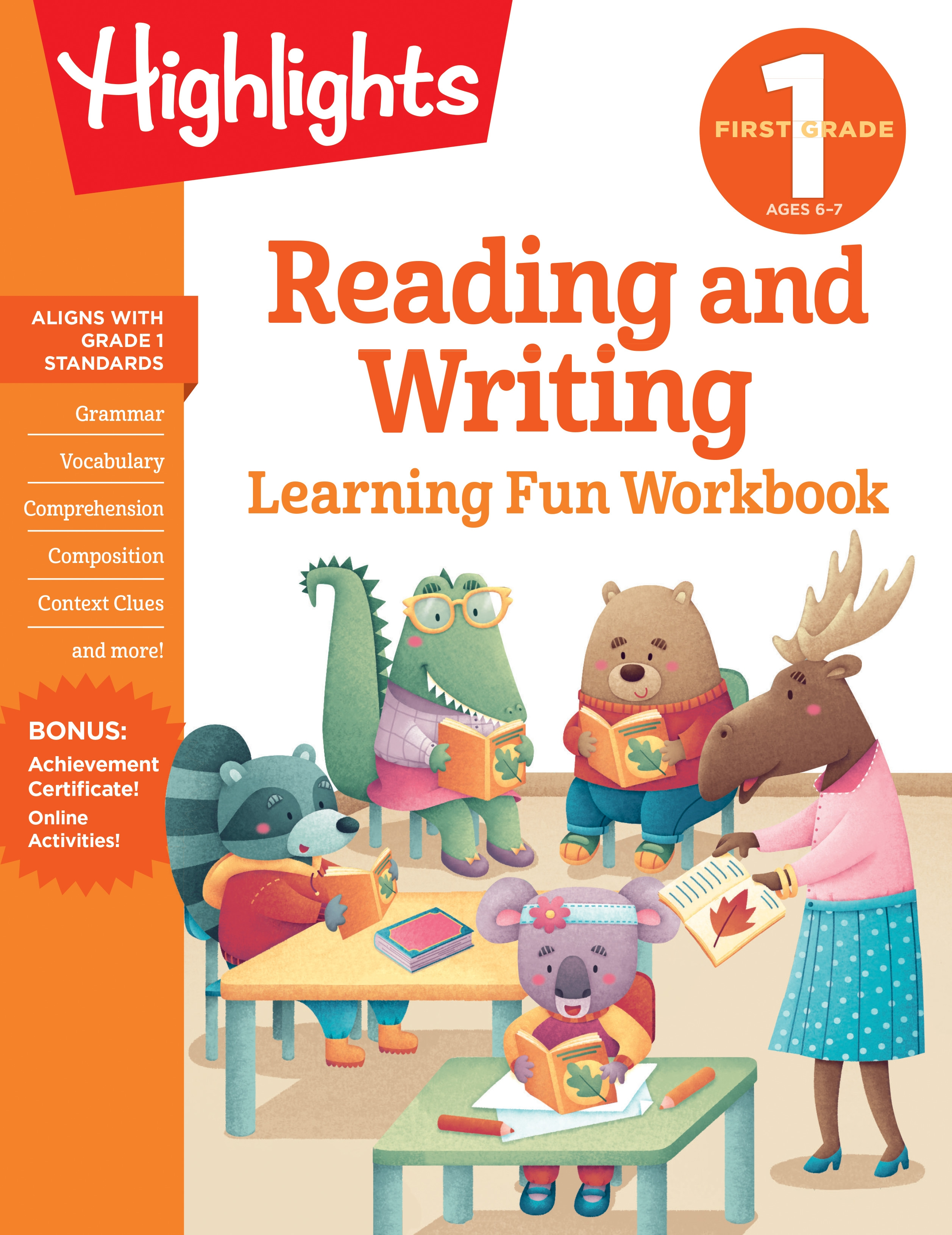 First Grade Reading and Writing by Highlights Learning ...