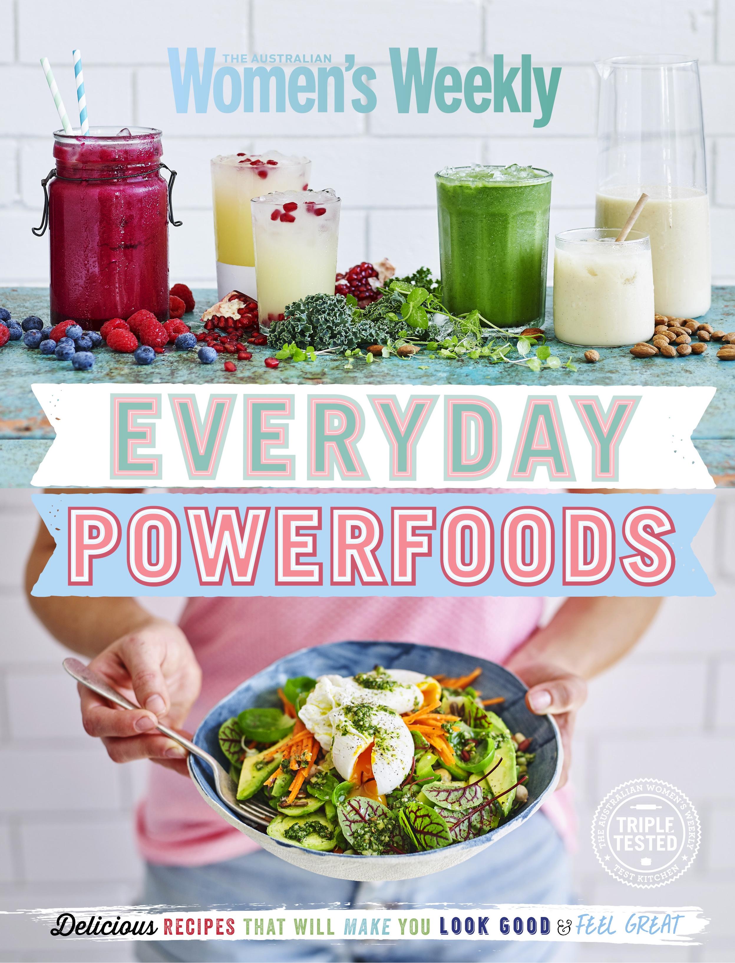 Food Book Cover Queensland ~ Everyday powerfoods by australian women s weekly