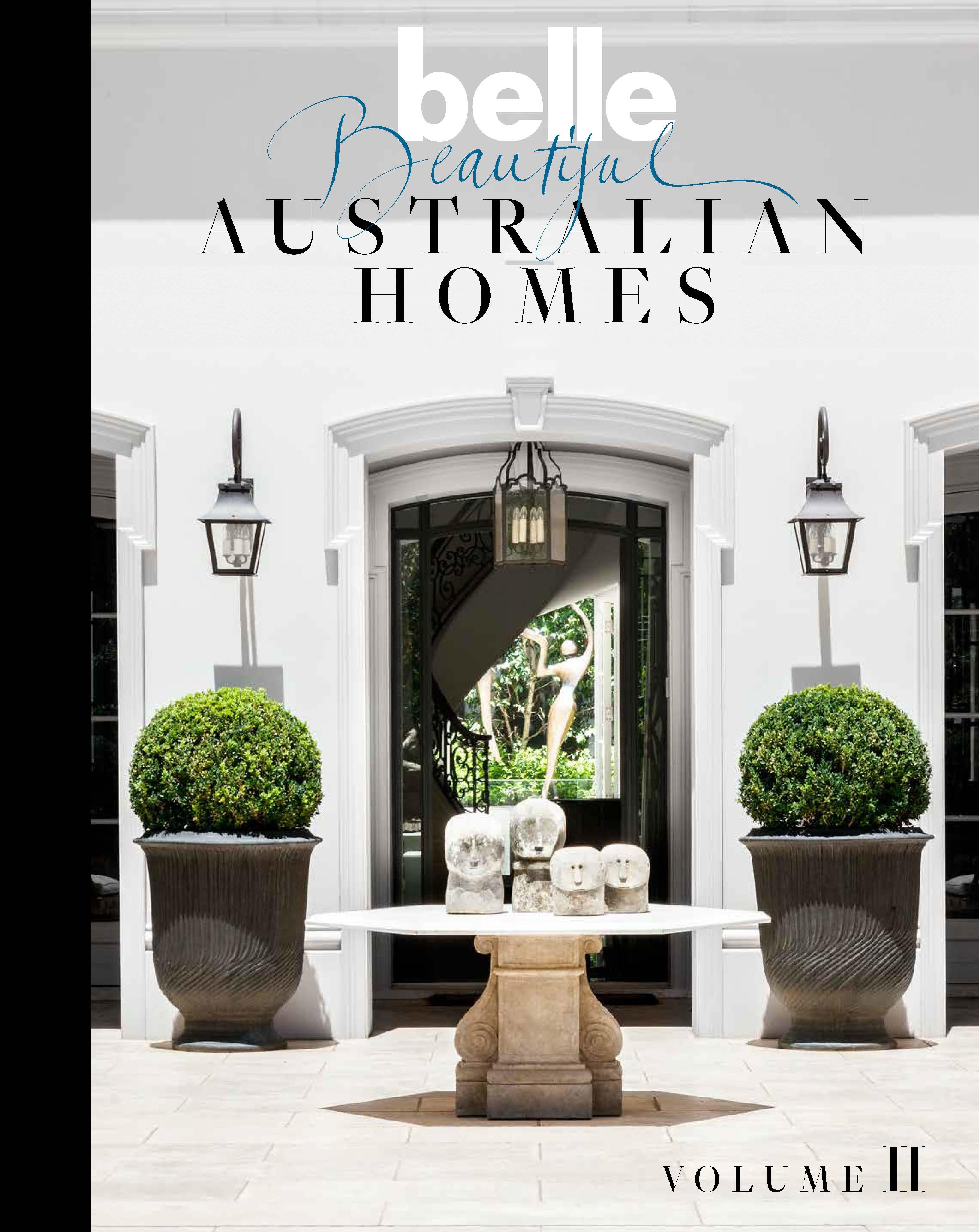 Belle Beautiful Australian Homes Volume II - Penguin Books Australia