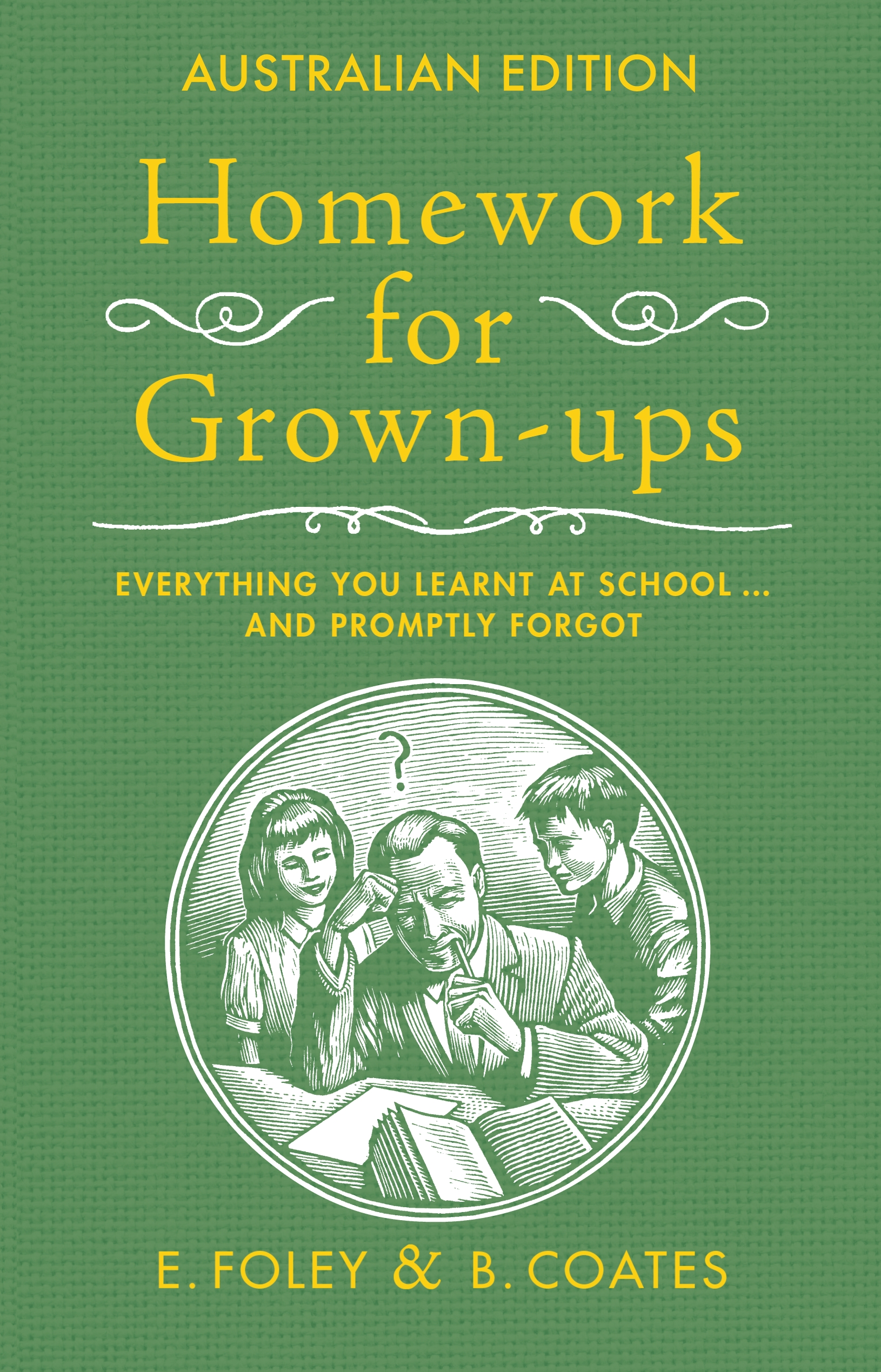 Homework for grown ups book
